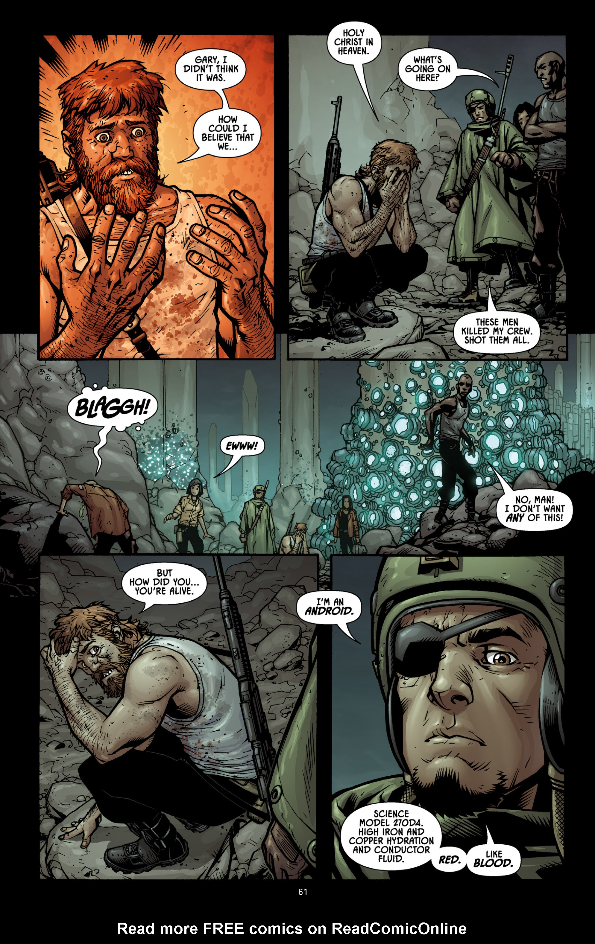 Aliens (2009) TPB Page 56