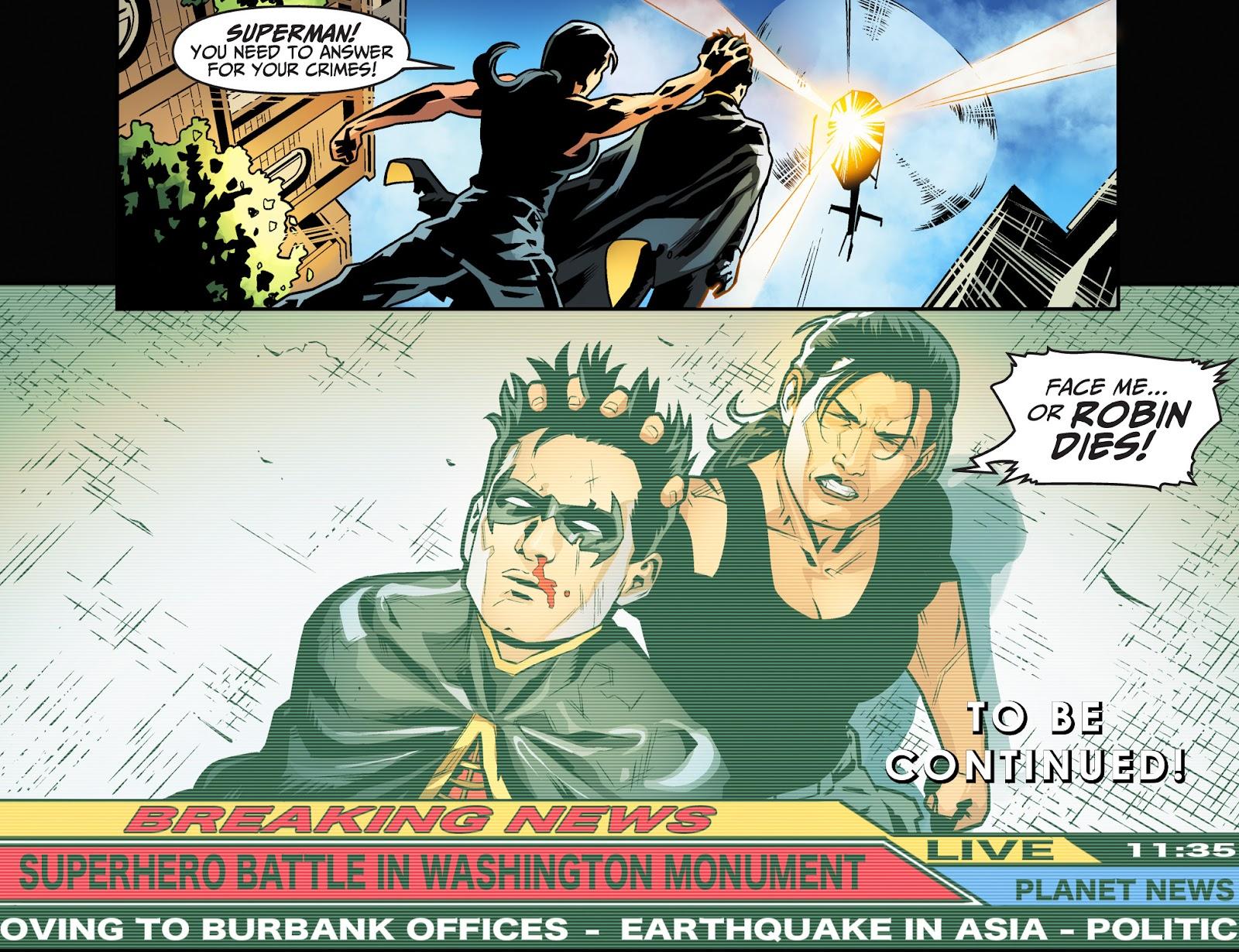 Injustice: Gods Among Us Year Four Issue #2 #3 - English 22