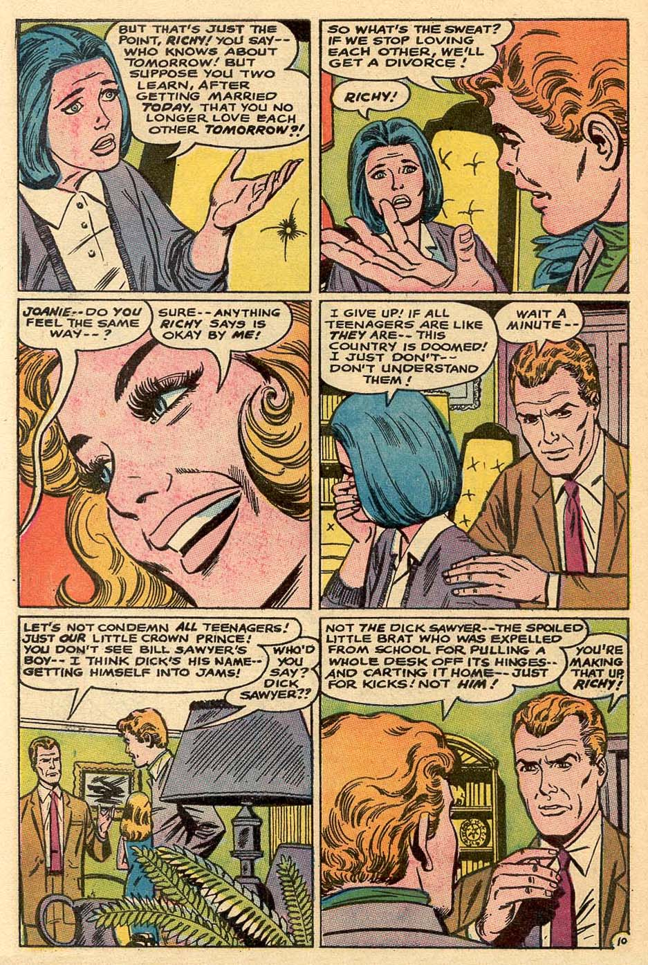 Read online Secret Hearts comic -  Issue #122 - 27