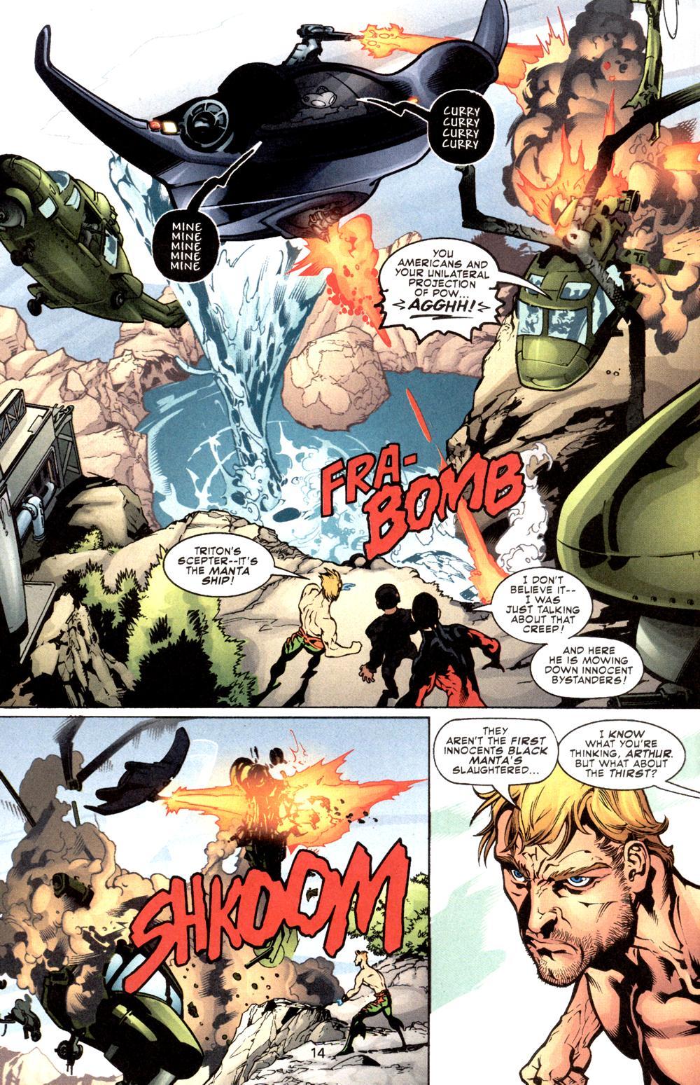 Aquaman (2003) Issue #8 #8 - English 15