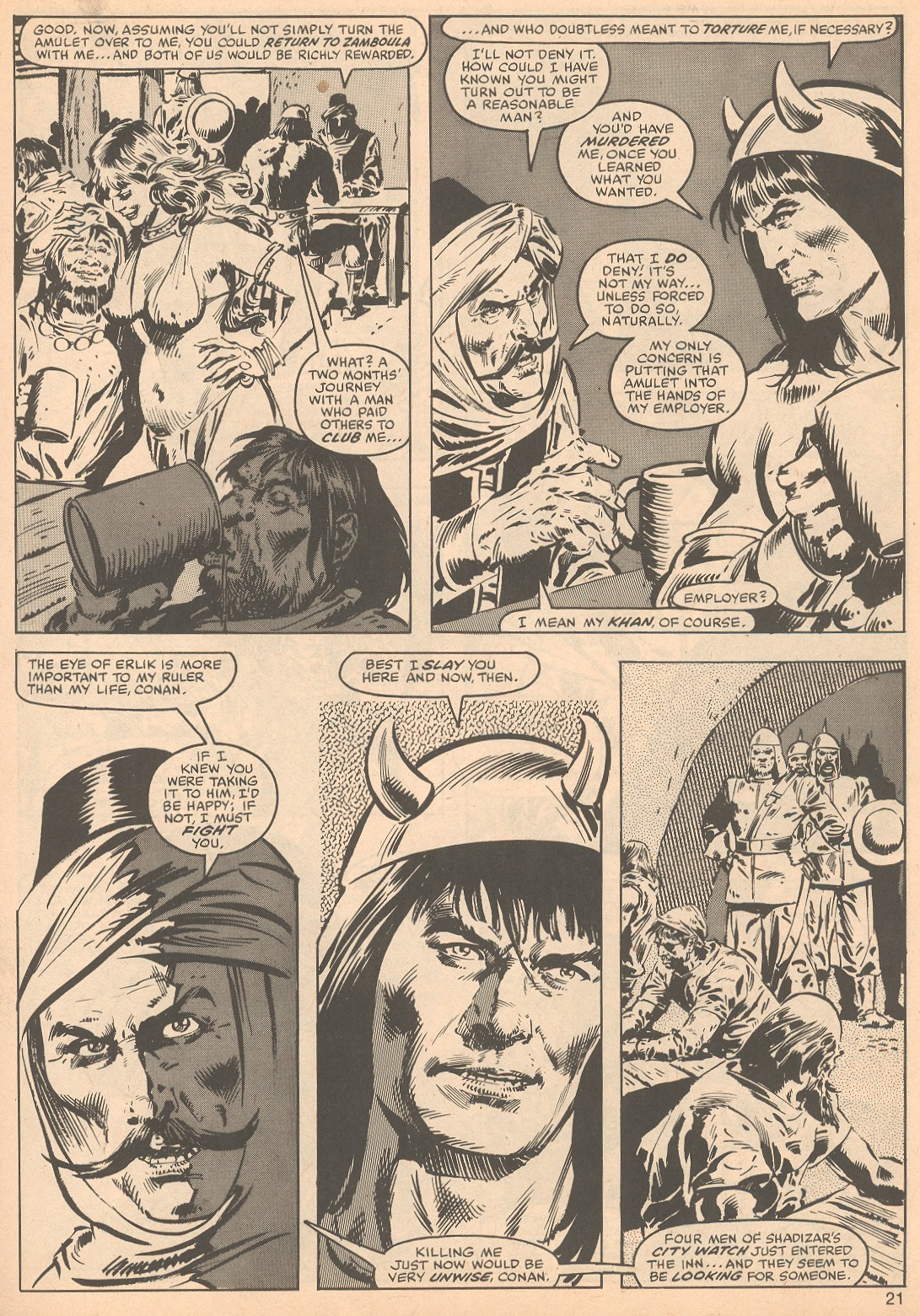 The Savage Sword Of Conan Issue #56 #57 - English 21