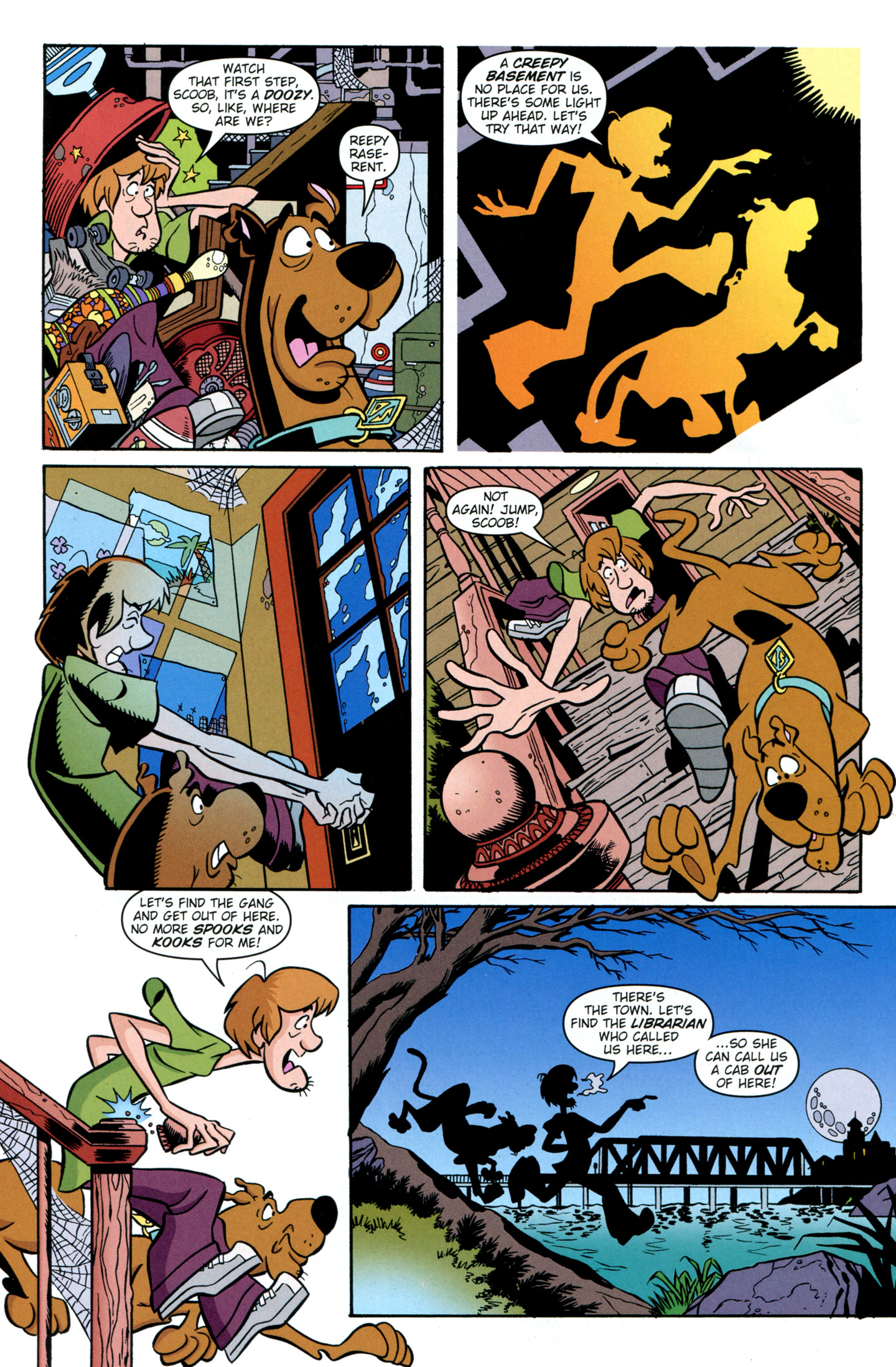 Read online Scooby-Doo: Where Are You? comic -  Issue #28 - 20
