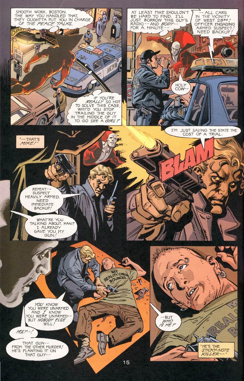 Read online Deadman (2002) comic -  Issue #6 - 16