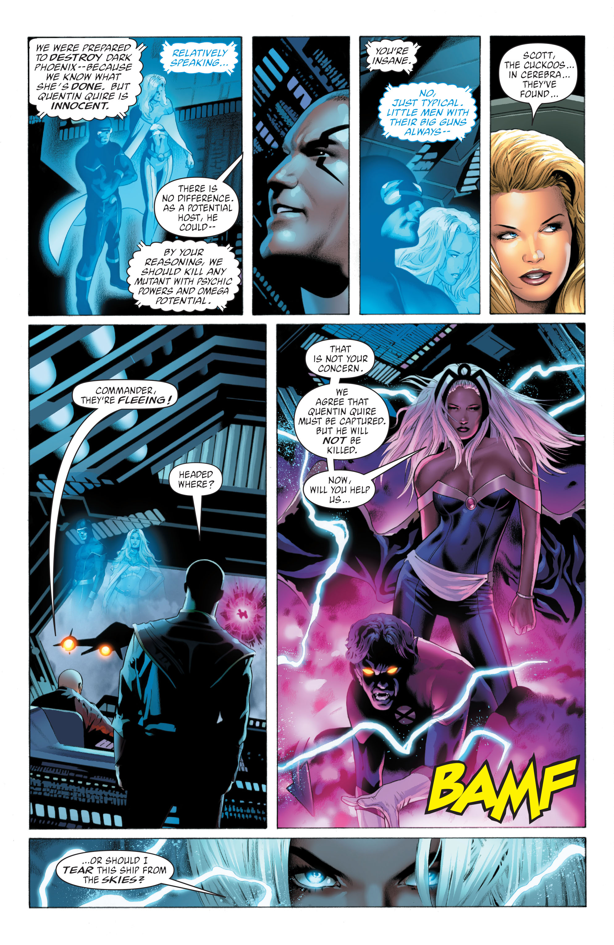 Read online X-Men: Phoenix - Endsong comic -  Issue #3 - 16