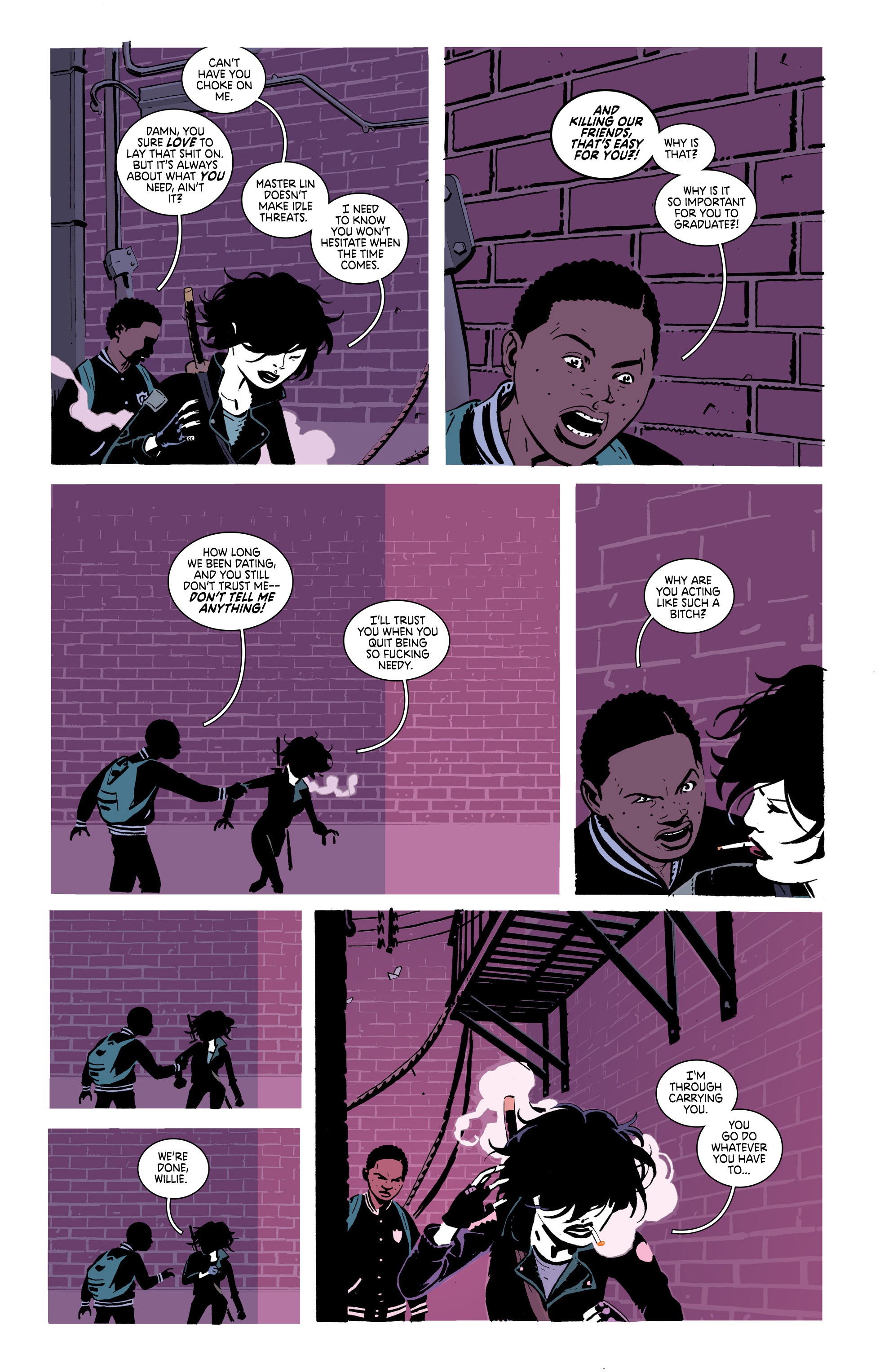 Read online Deadly Class comic -  Issue #20 - 6