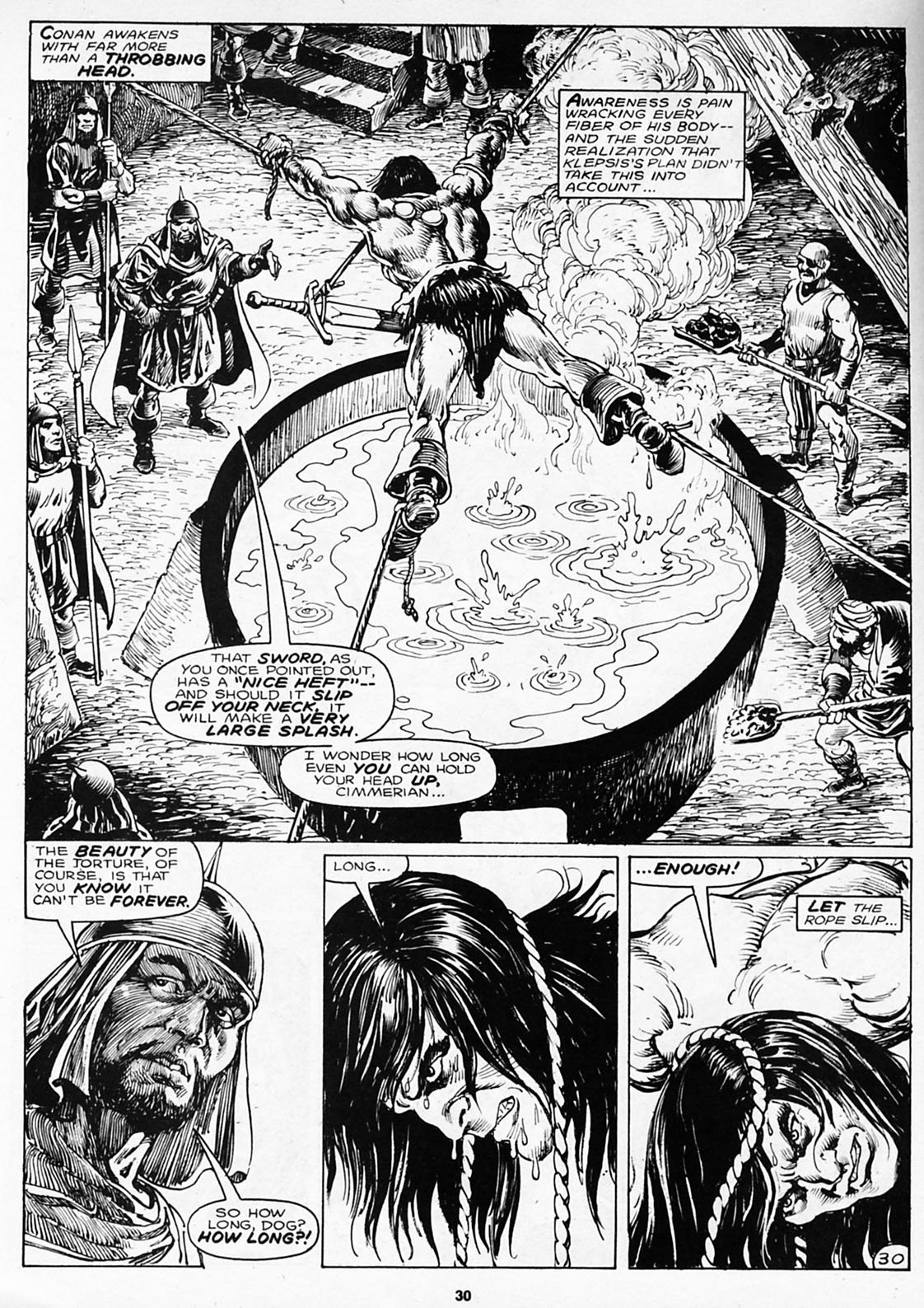 The Savage Sword Of Conan Issue #180 #181 - English 32