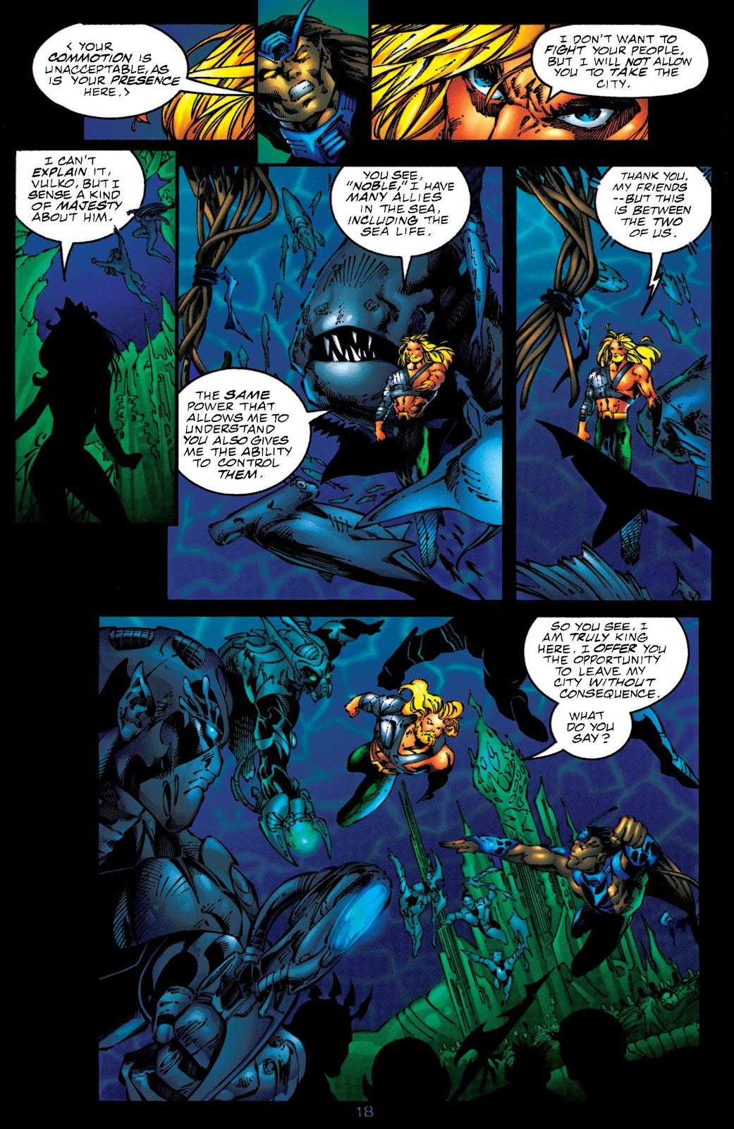 Aquaman (1994) Issue #50 #56 - English 17