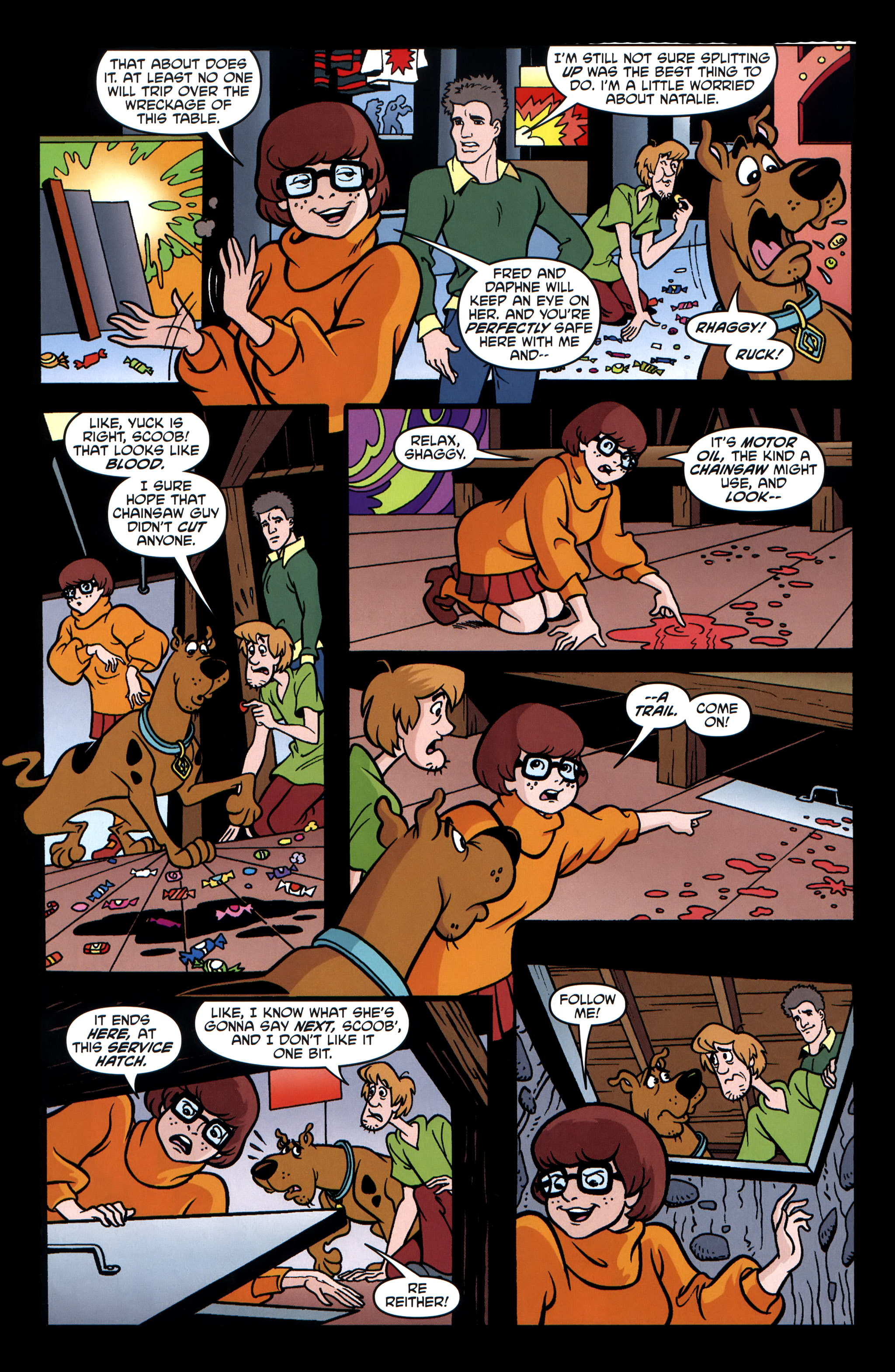Read online Scooby-Doo: Where Are You? comic -  Issue #32 - 24