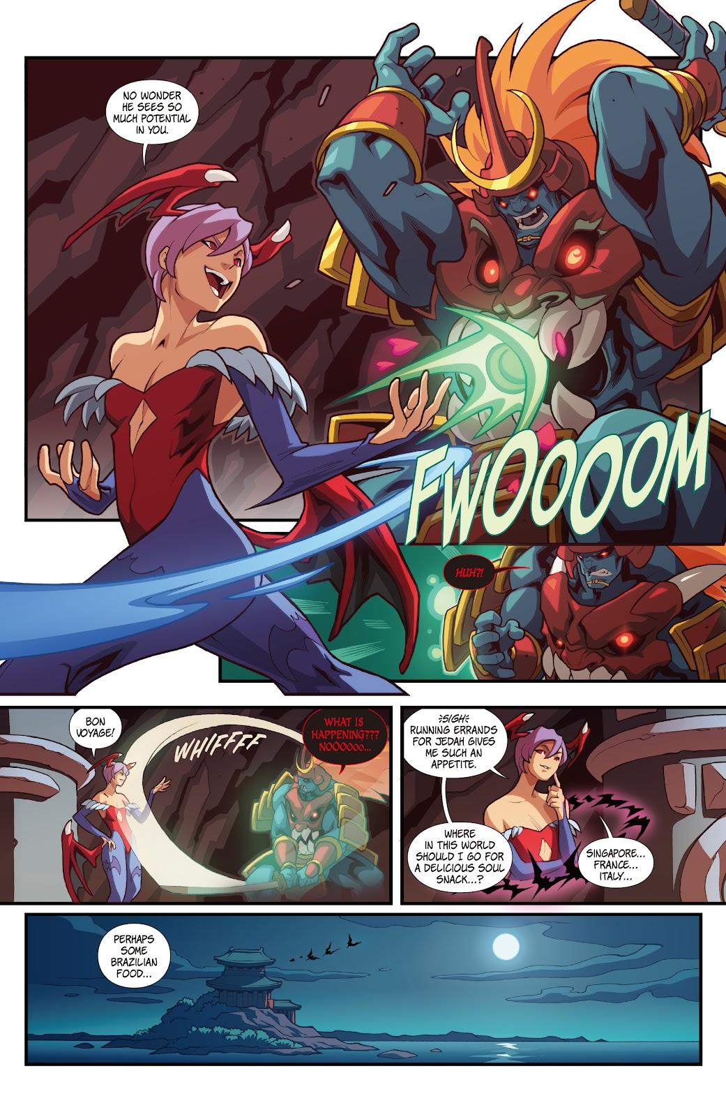 Street Fighter VS Darkstalkers Issue #2 #3 - English 7