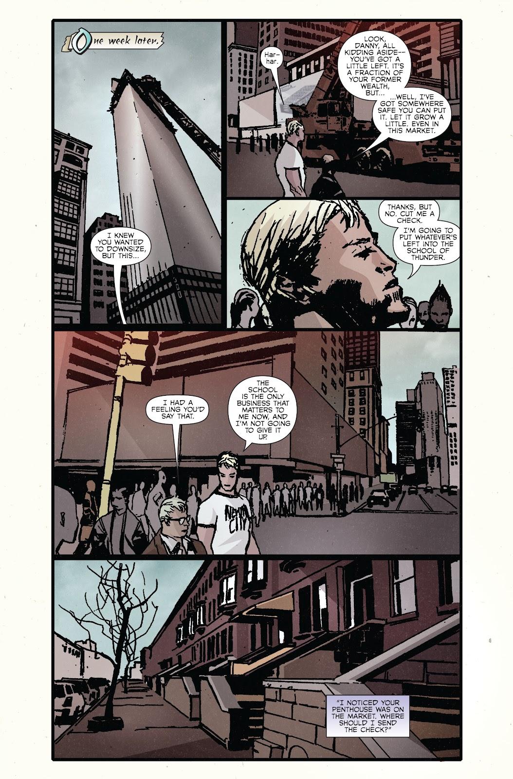 The Immortal Iron Fist Issue #27 #28 - English 21
