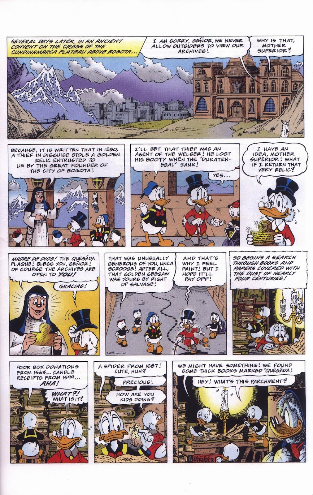 Uncle Scrooge (1953) Issue #311 #311 - English 13