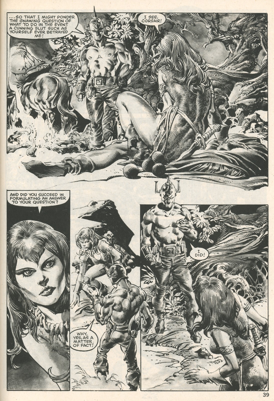 The Savage Sword Of Conan Issue #107 #108 - English 39