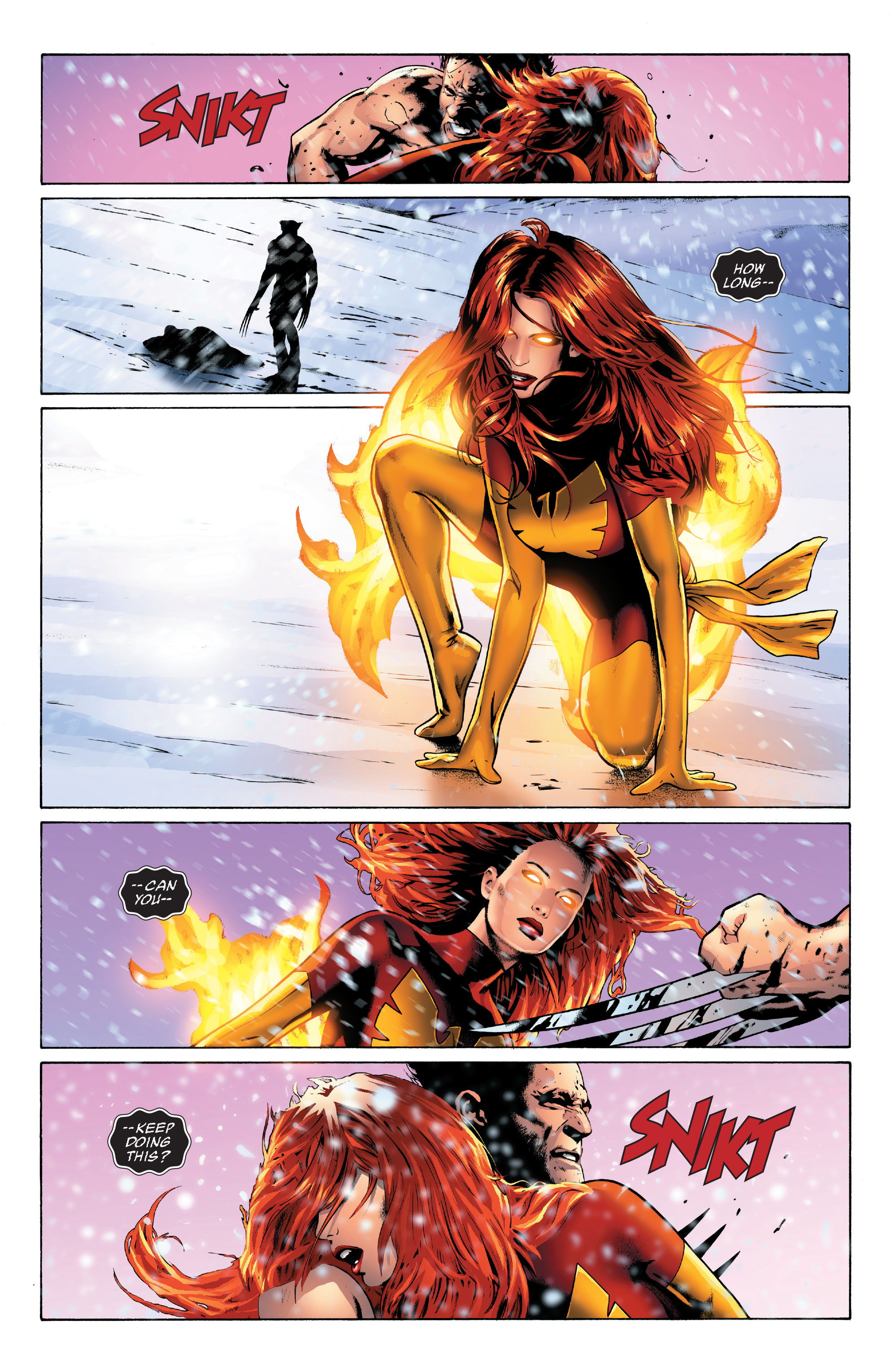 Read online X-Men: Phoenix - Endsong comic -  Issue #3 - 20