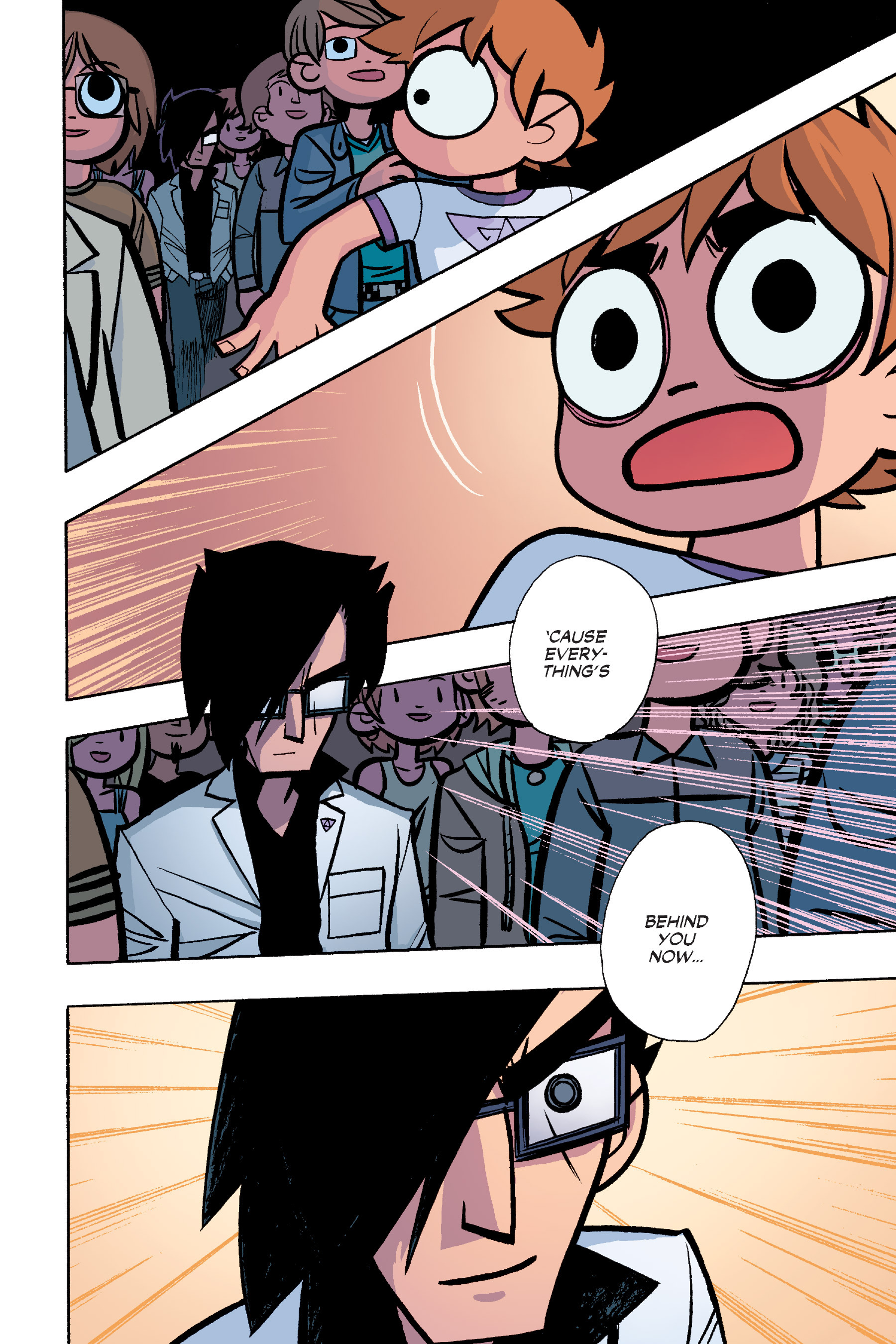 Read online Scott Pilgrim comic -  Issue #6 - 115