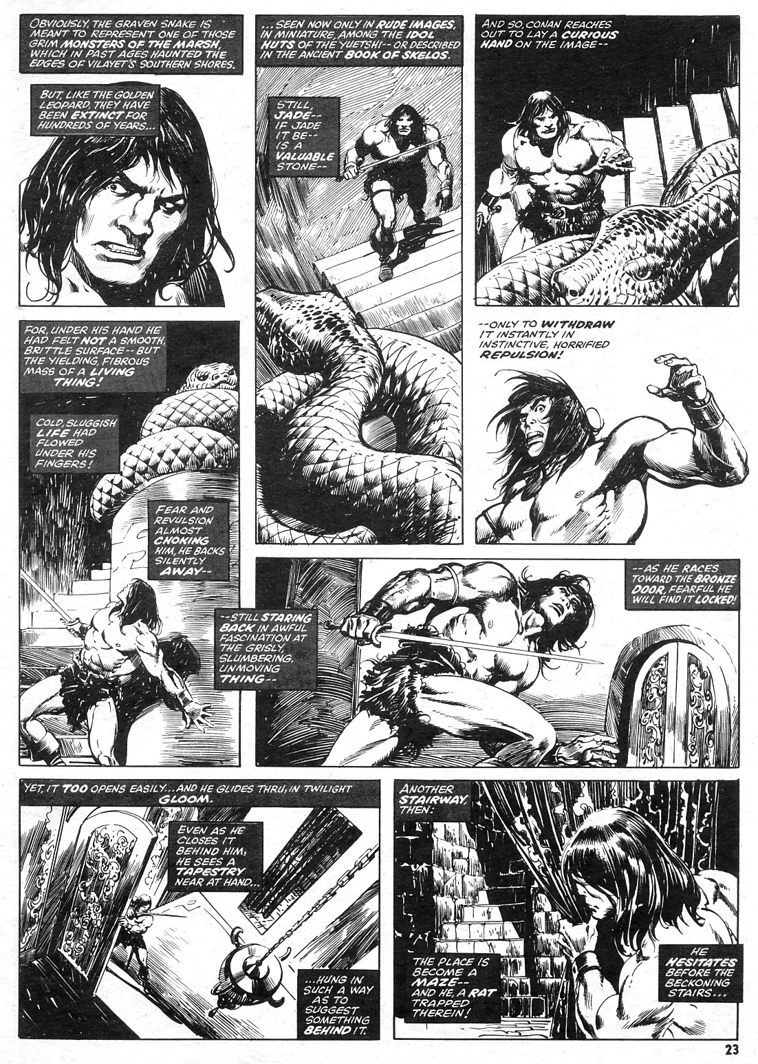 The Savage Sword Of Conan Issue #15 #16 - English 23