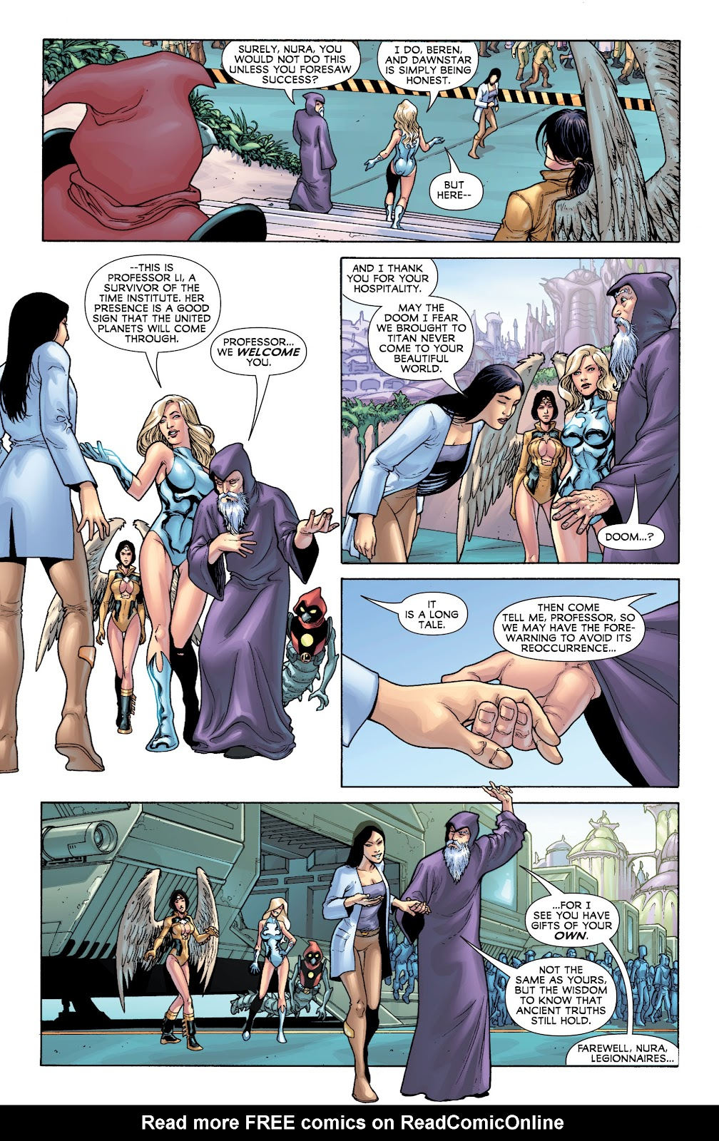 Legion of Super-Heroes (2010) Issue #4 #5 - English 18