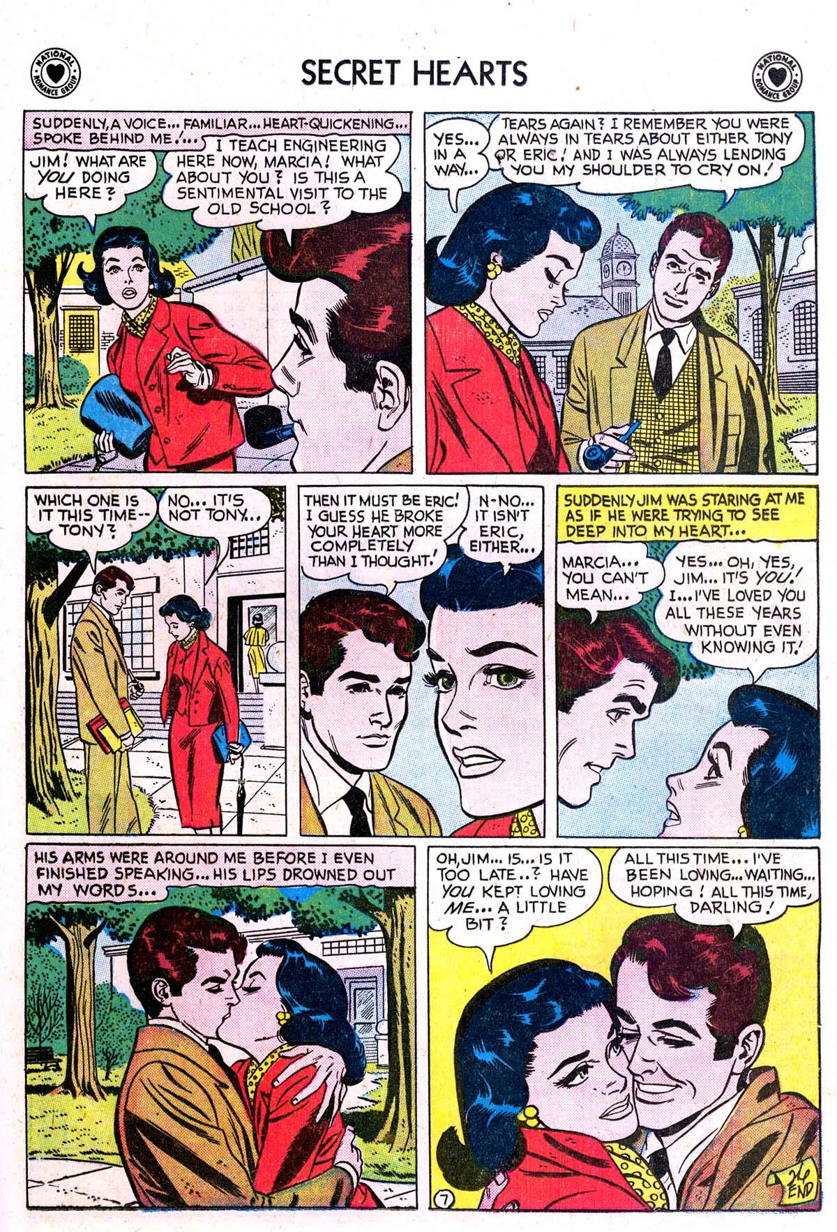 Read online Secret Hearts comic -  Issue #42 - 25
