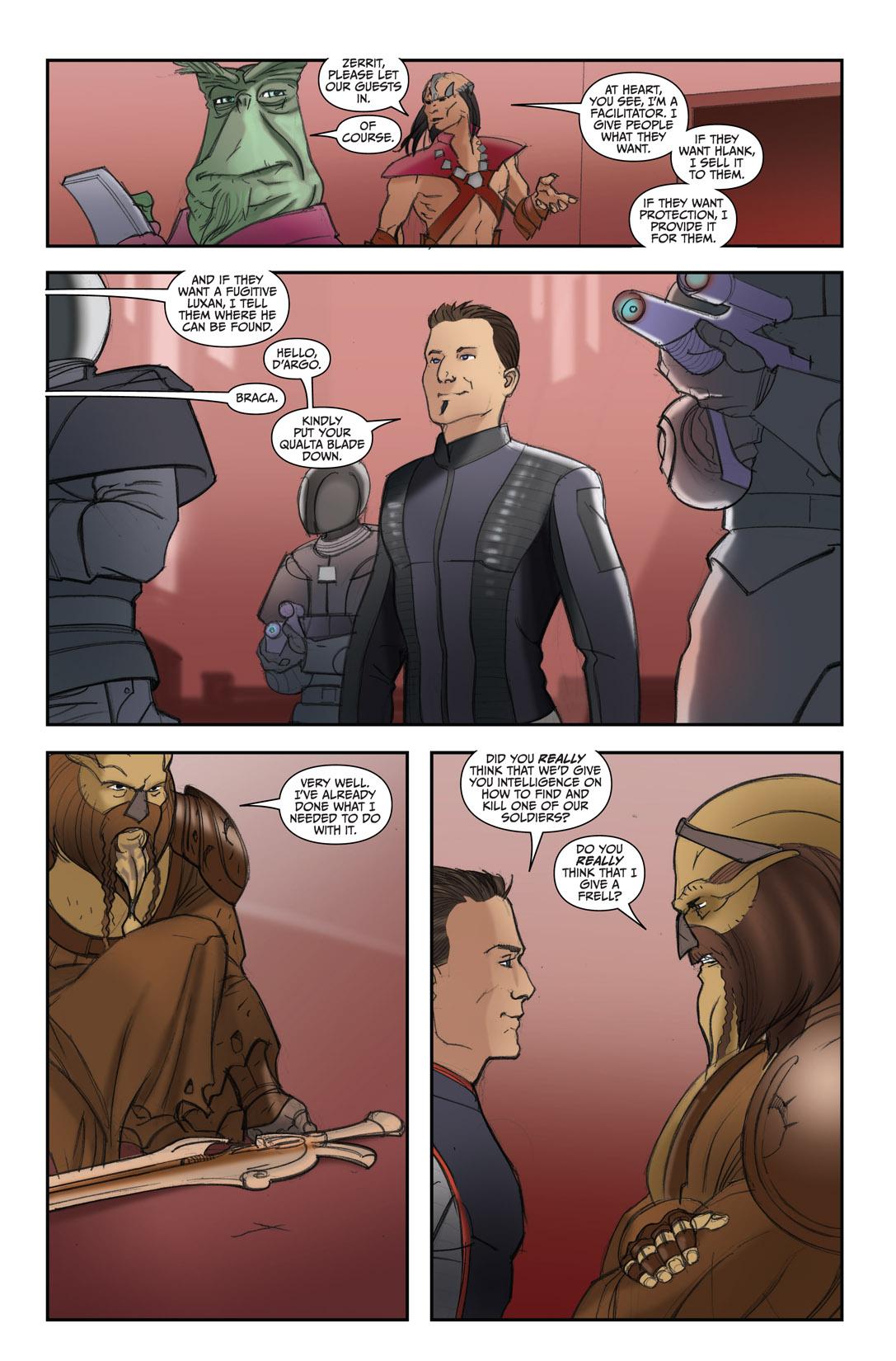 Read online Farscape: D'Argo's Quest comic -  Issue #4 - 19
