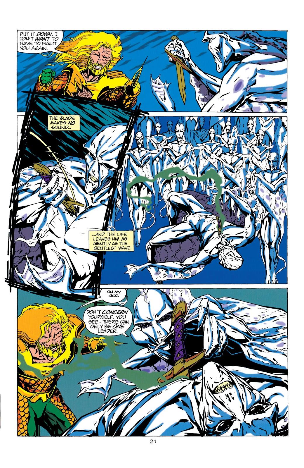 Aquaman (1994) Issue #17 #23 - English 21