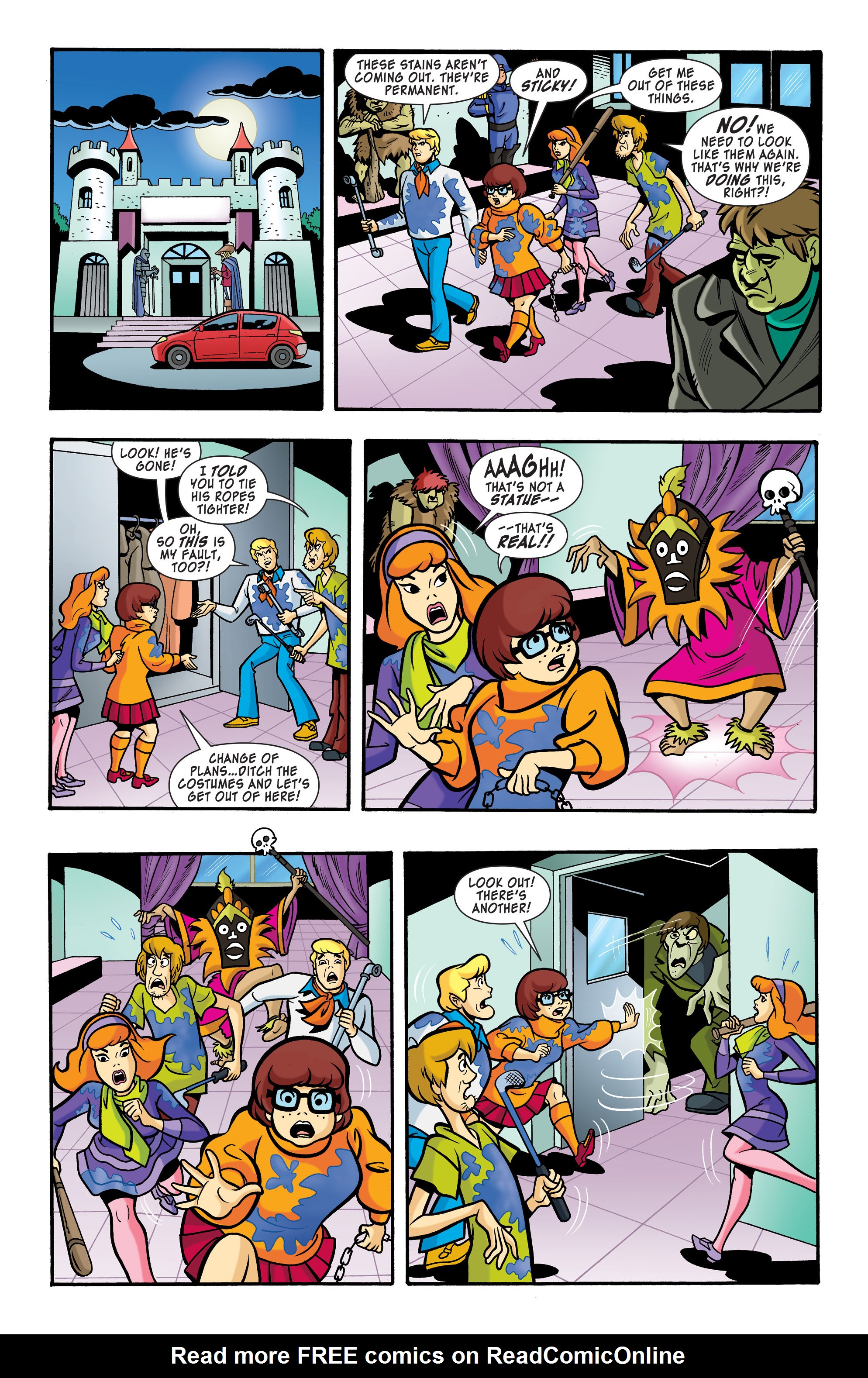 Read online Scooby-Doo: Where Are You? comic -  Issue #64 - 9