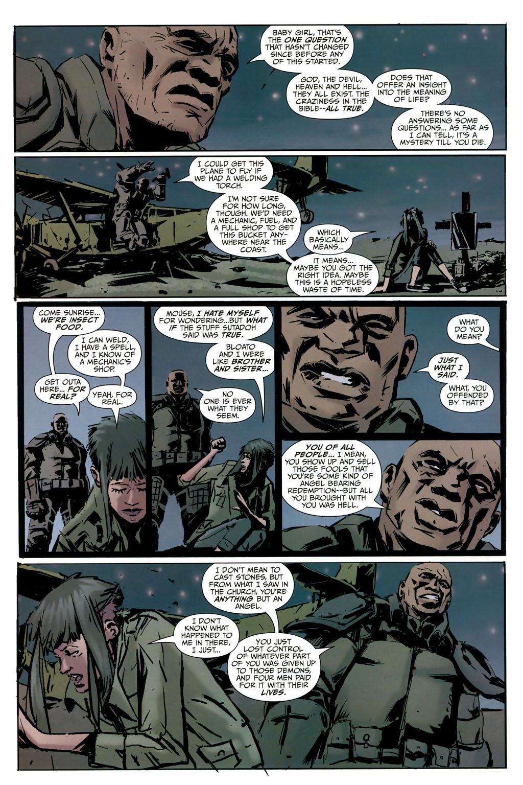 Strange Girl Issue #9 #10 - English 14
