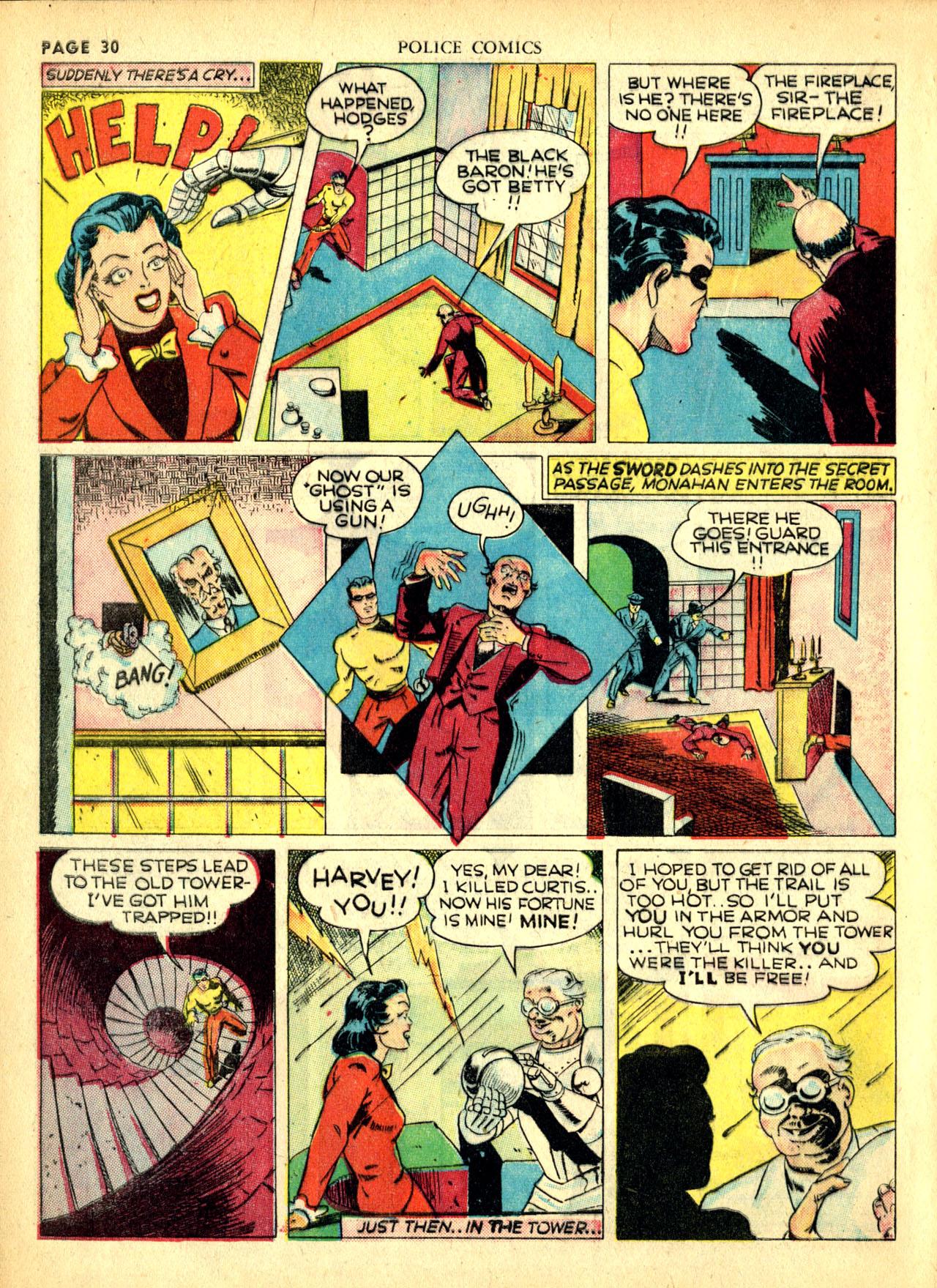 Police Comics #1 #127 - English 33