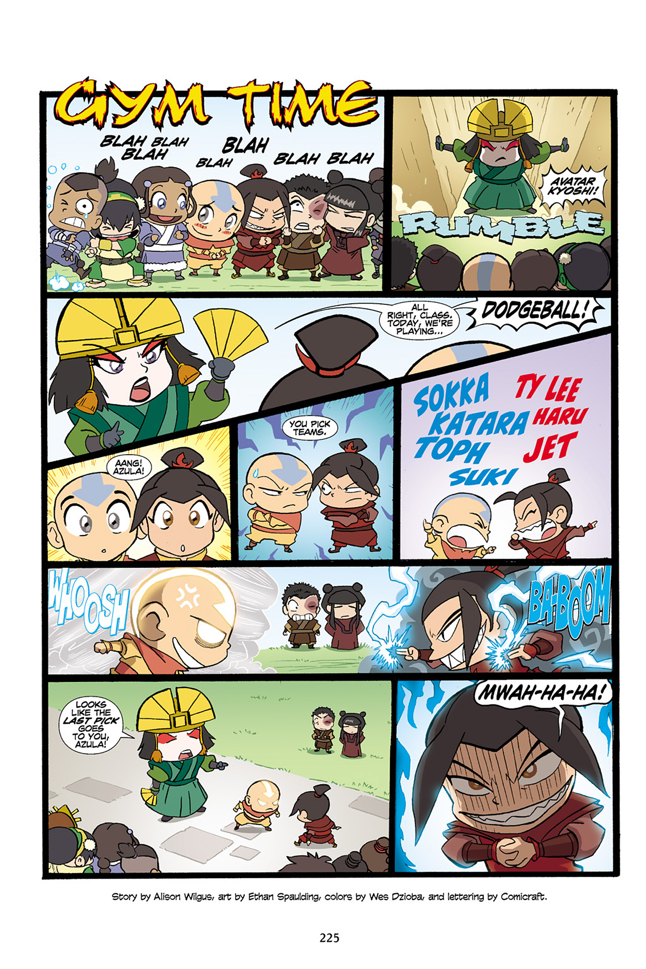 Nickelodeon Avatar: The Last Airbender - The Lost Adventures chap full pic 226
