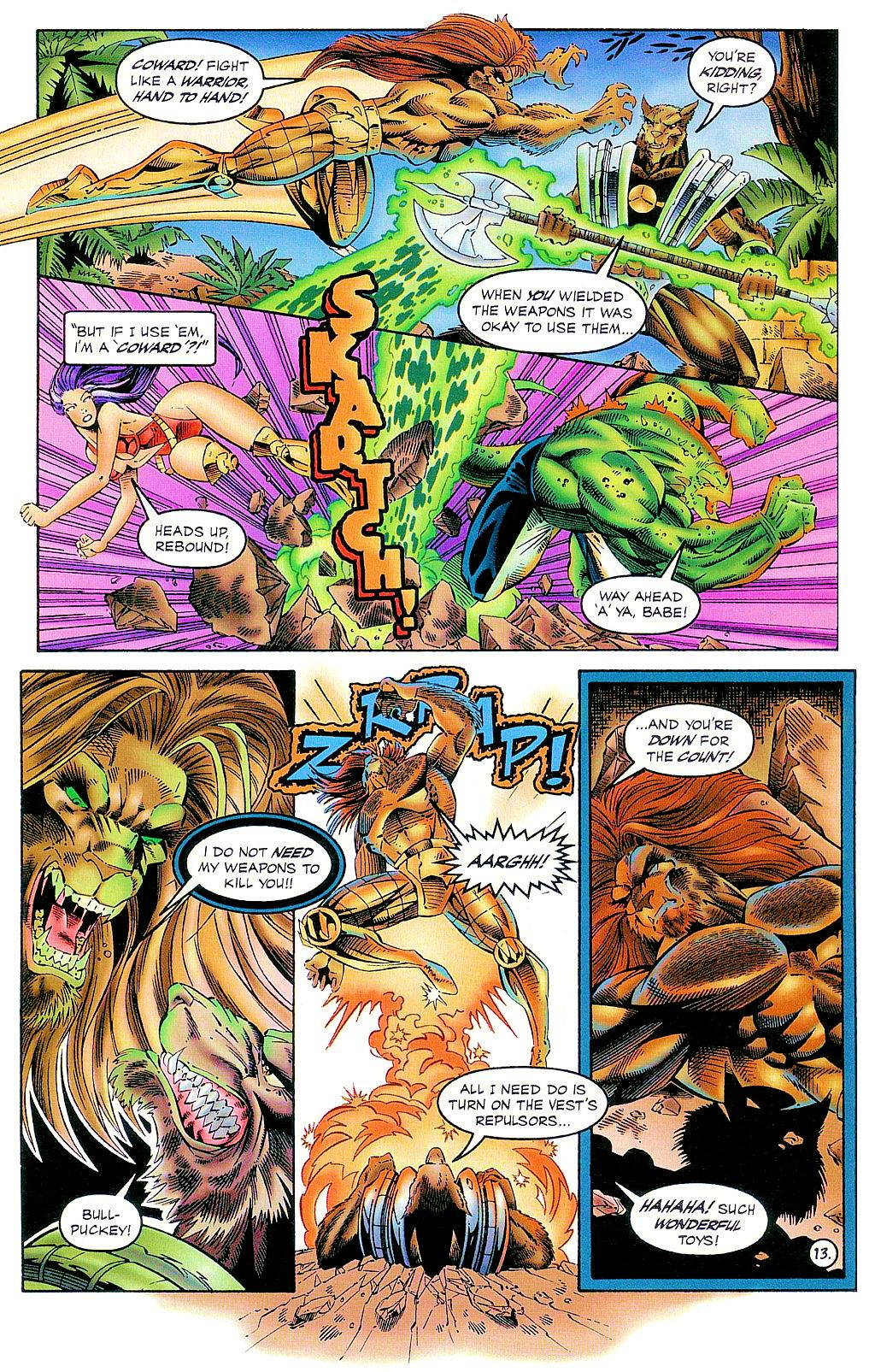 Read online The Others comic -  Issue #2 - 14