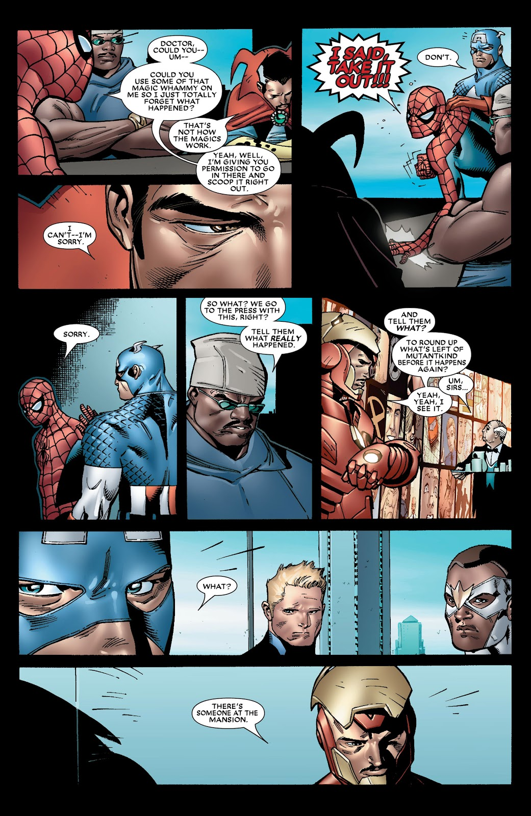 House of M (2005) Issue #8 #8 - English 18