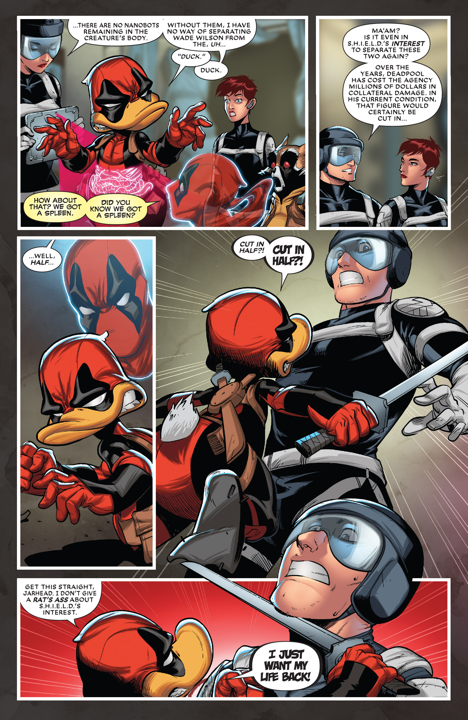 Read online Deadpool The Duck comic -  Issue #5 - 5