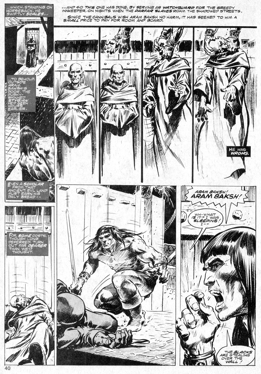 The Savage Sword Of Conan Issue #14 #15 - English 40