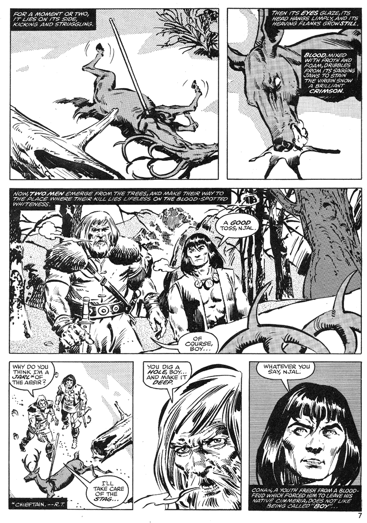 The Savage Sword Of Conan Issue #39 #40 - English 7