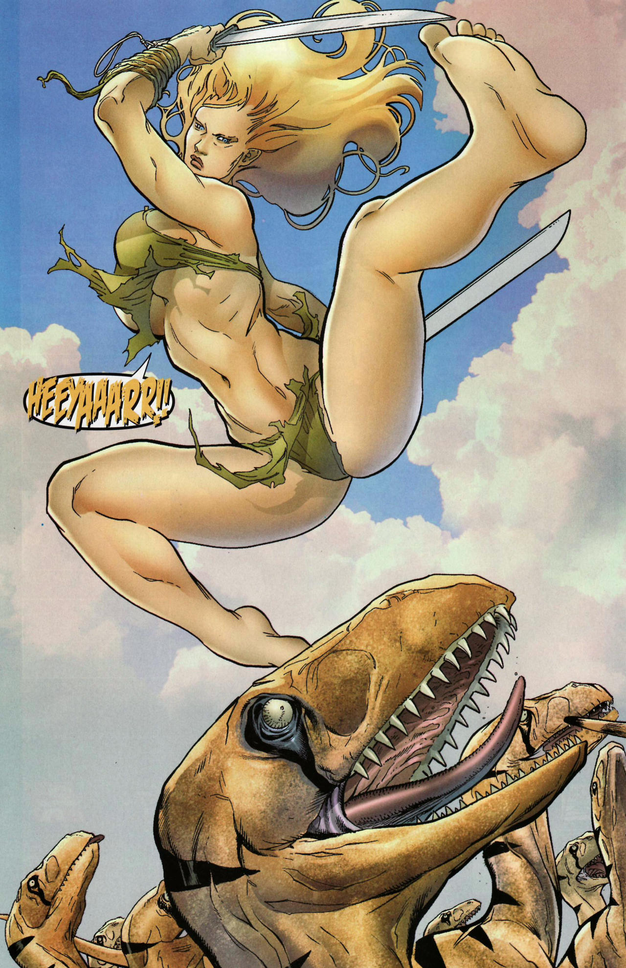 Read online Shanna the She-Devil: Survival of the Fittest comic -  Issue #1 - 10