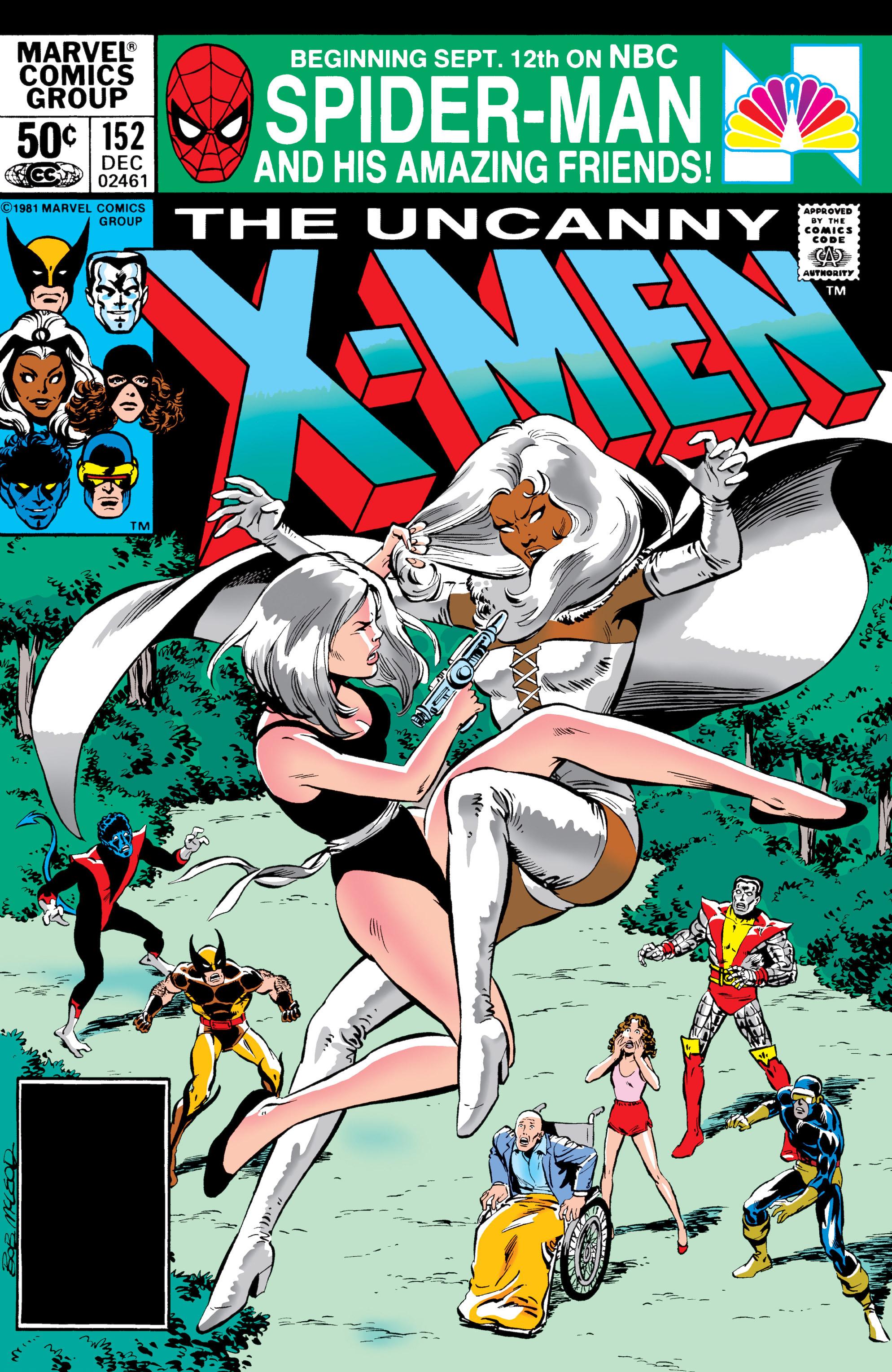 Uncanny X-Men (1963) 152 Page 1