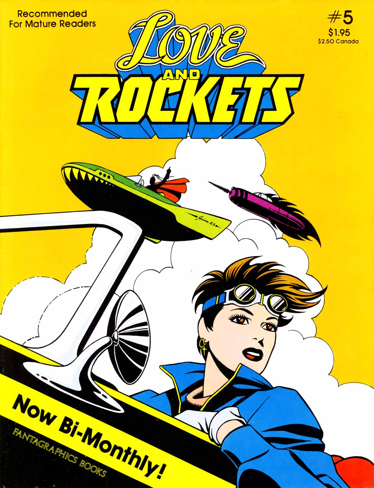 Love and Rockets (1982) Issue #5 #4 - English 1