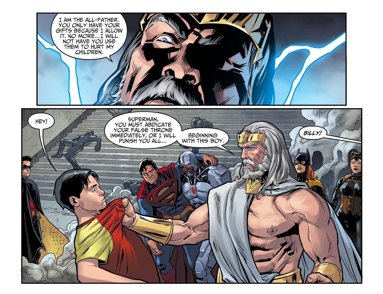 Injustice: Gods Among Us Year Four Issue #15 #16 - English 8
