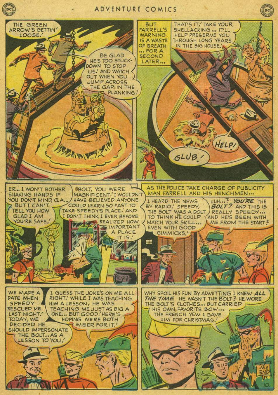 Read online Adventure Comics (1938) comic -  Issue #164 - 48