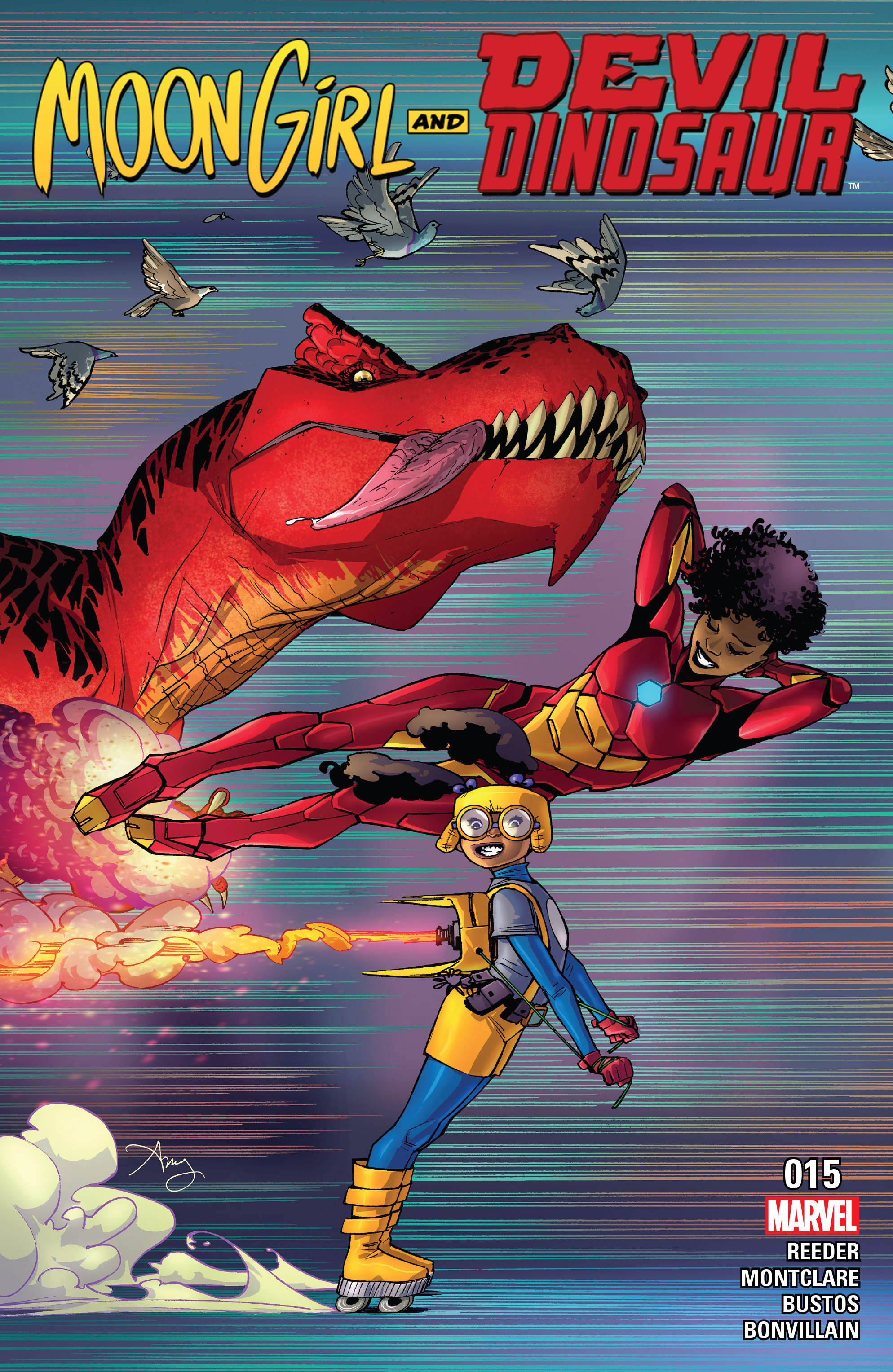 Moon Girl And Devil Dinosaur issue 15 - Page 1