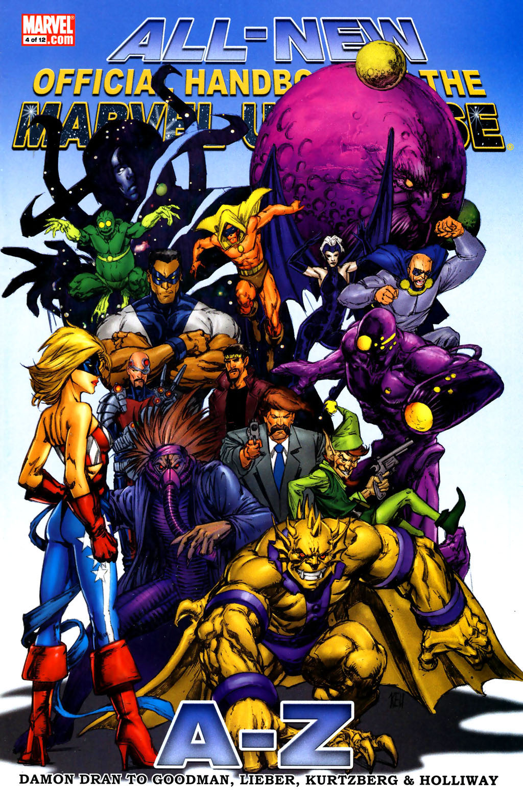All-New Official Handbook of the Marvel Universe A to Z 4 Page 1