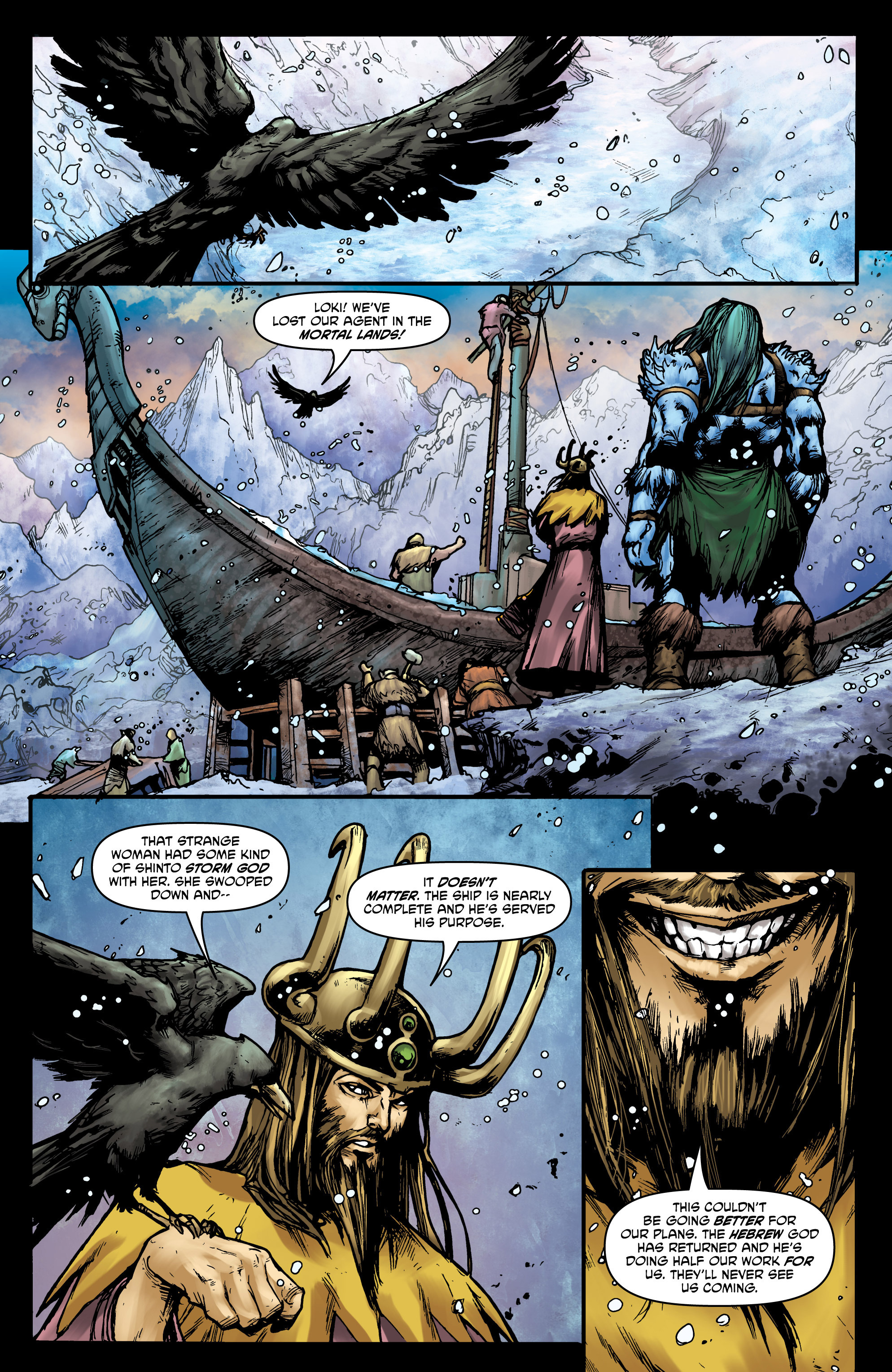 Read online God Is Dead comic -  Issue #44 - 9