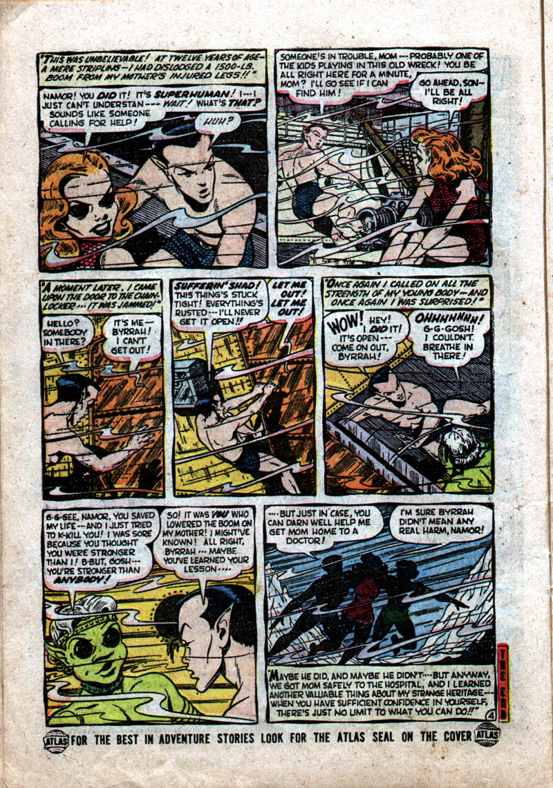 Sub-Mariner Comics #37 #37 - English 16