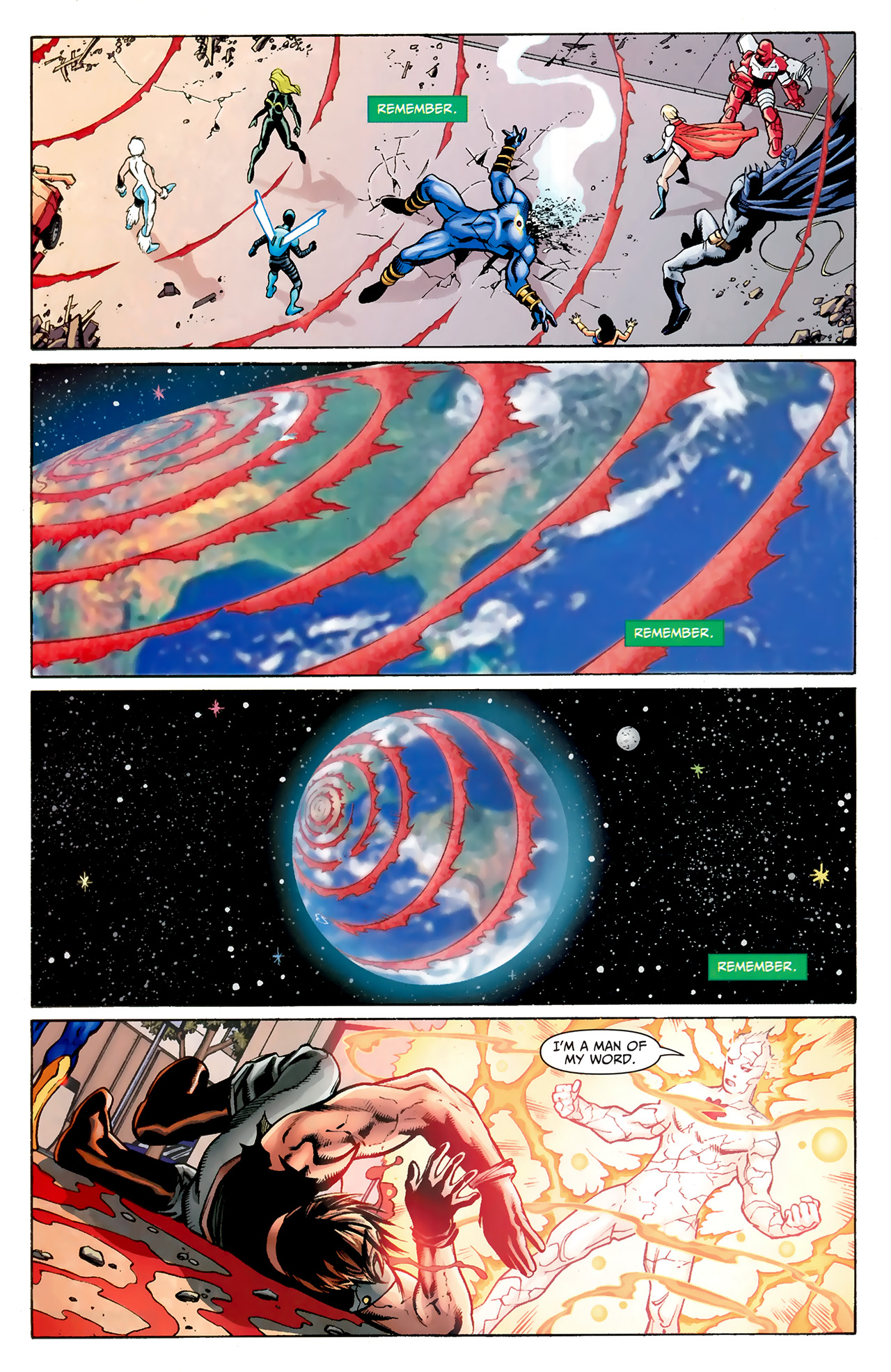 Read online Justice League: Generation Lost comic -  Issue #24 - 33