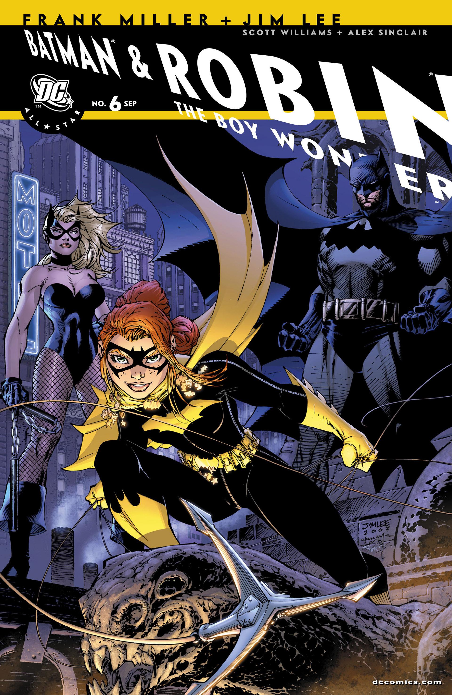 All Star Batman & Robin, The Boy Wonder 6 Page 1