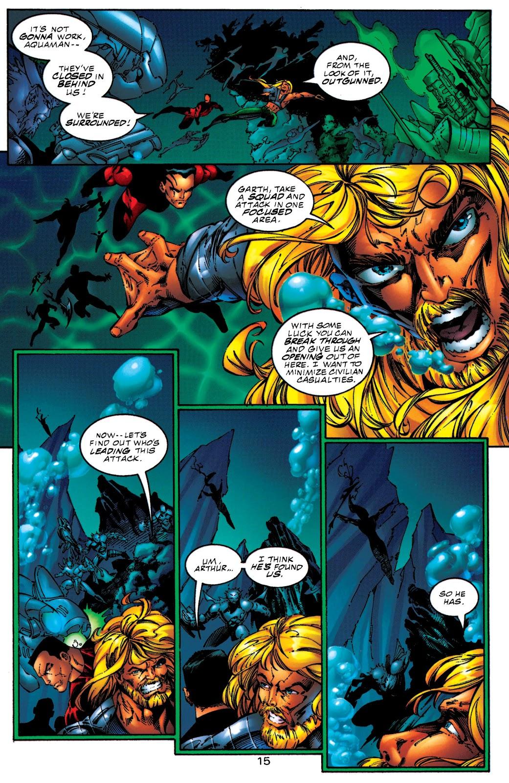 Aquaman (1994) Issue #50 #56 - English 14
