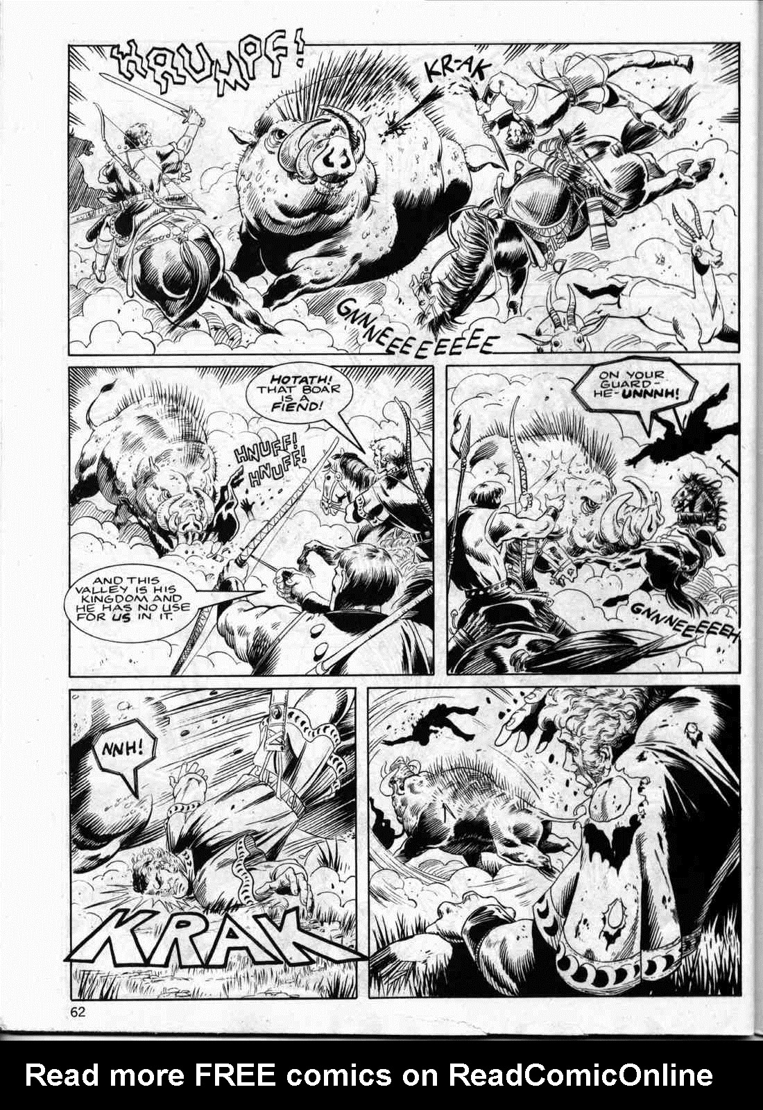 The Savage Sword Of Conan Issue #133 #134 - English 61