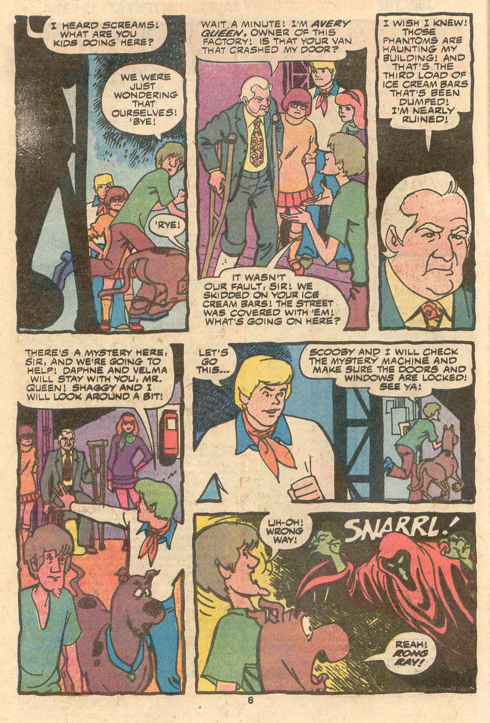 Read online Scooby-Doo (1977) comic -  Issue #1 - 5