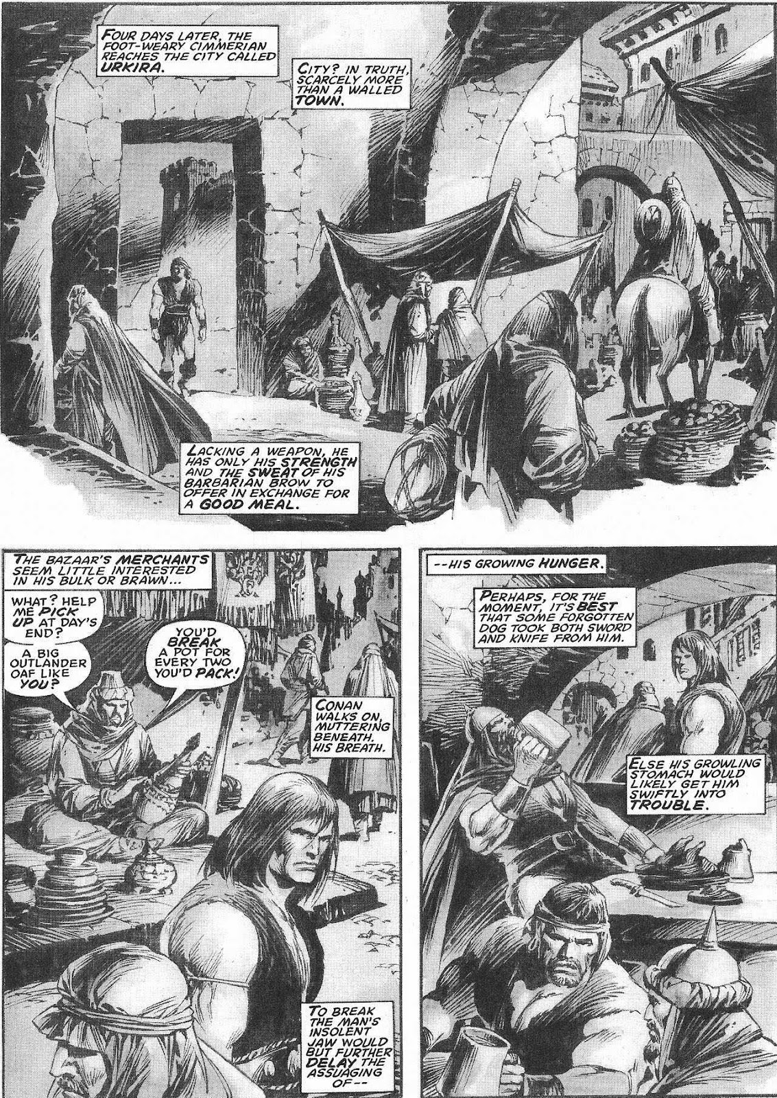 The Savage Sword Of Conan Issue #207 #208 - English 25