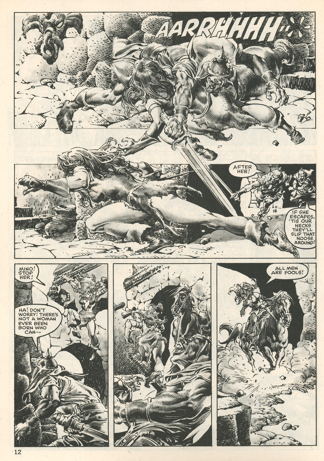 The Savage Sword Of Conan Issue #107 #108 - English 12