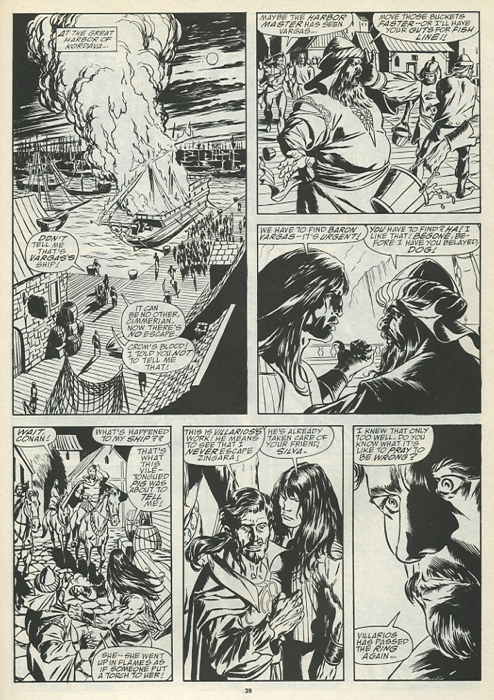 The Savage Sword Of Conan Issue #185 #186 - English 41