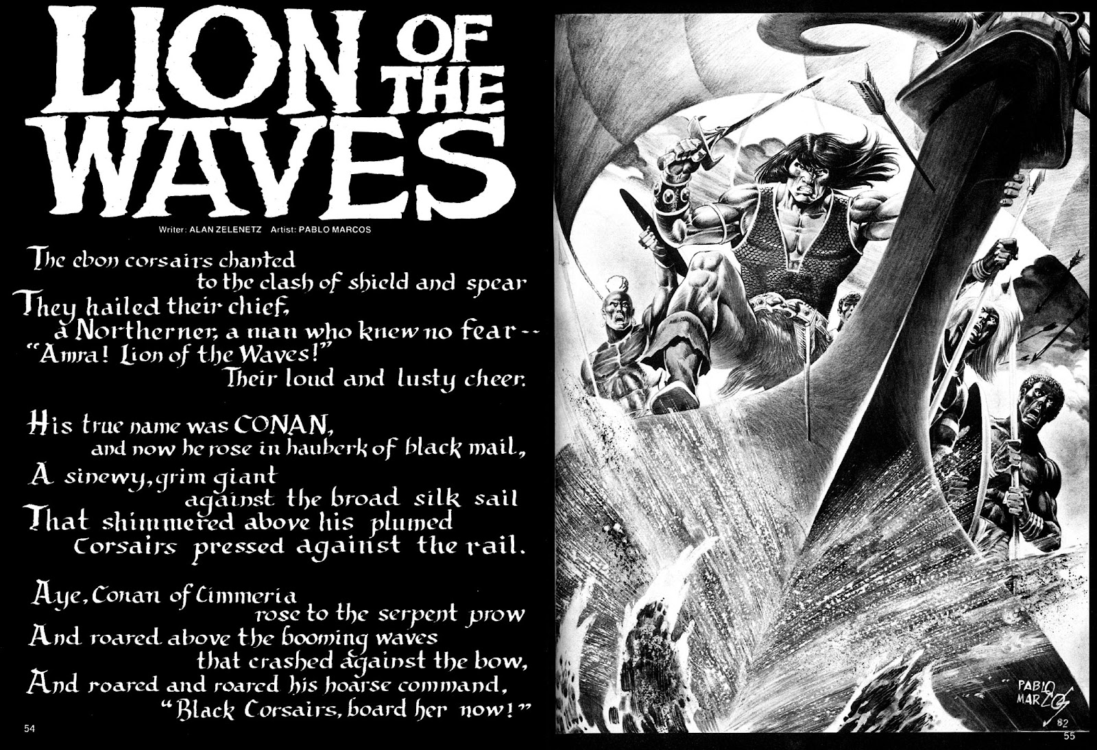 The Savage Sword Of Conan Issue #86 #87 - English 54